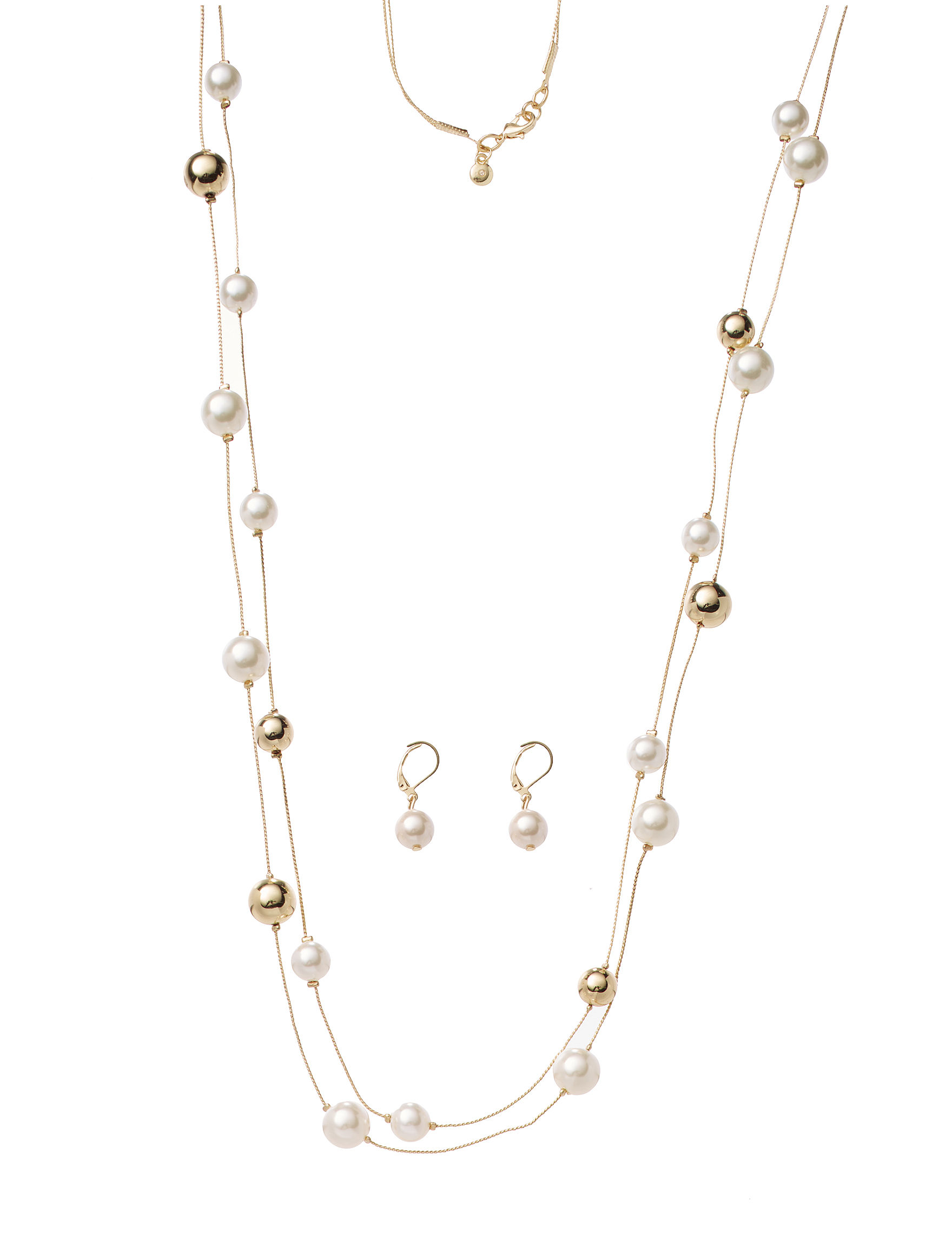 Hannah Gold / Pearl Jewelry Sets Fashion Jewelry
