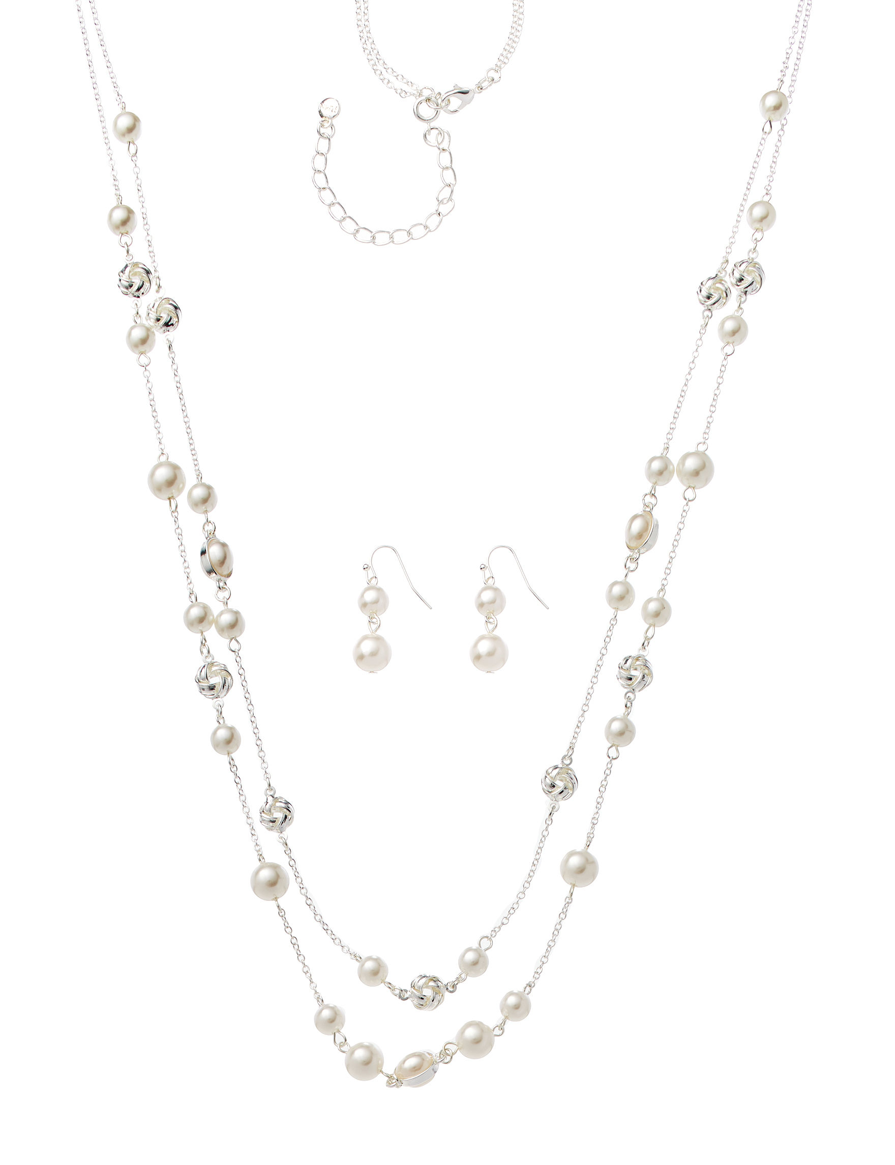 Hannah Silver / Pearl Jewelry Sets Fashion Jewelry