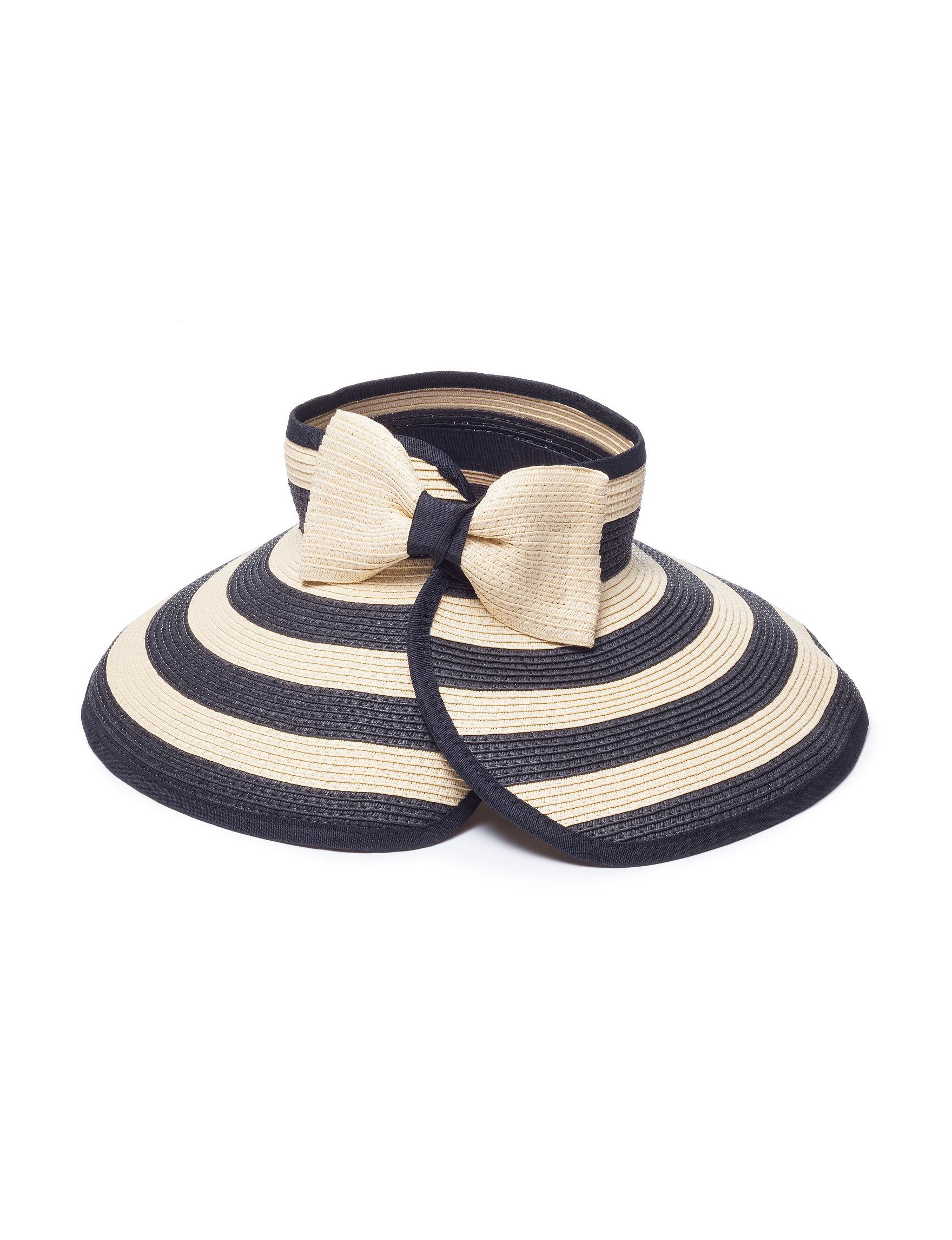 Amiee Lynn Black / Beige Hats & Headwear