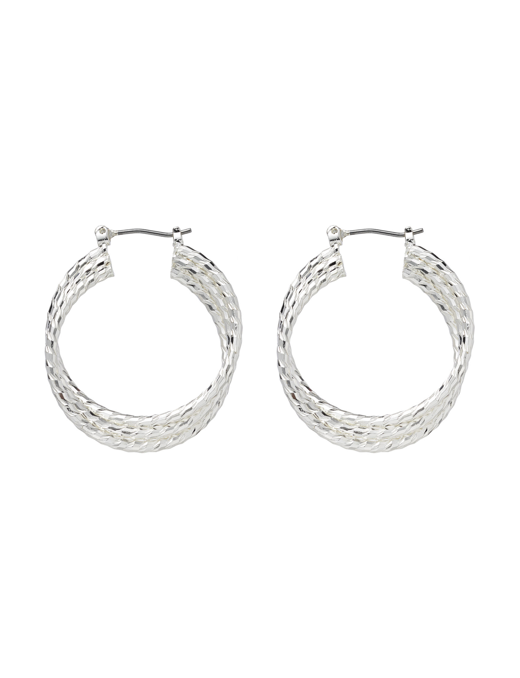 Roman  Hoops Earrings Fashion Jewelry