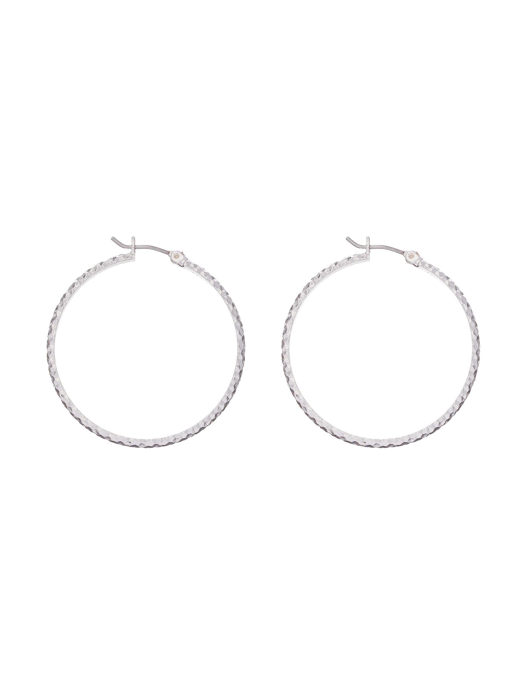 Roman  Hoops Earrings Fashion Jewelry