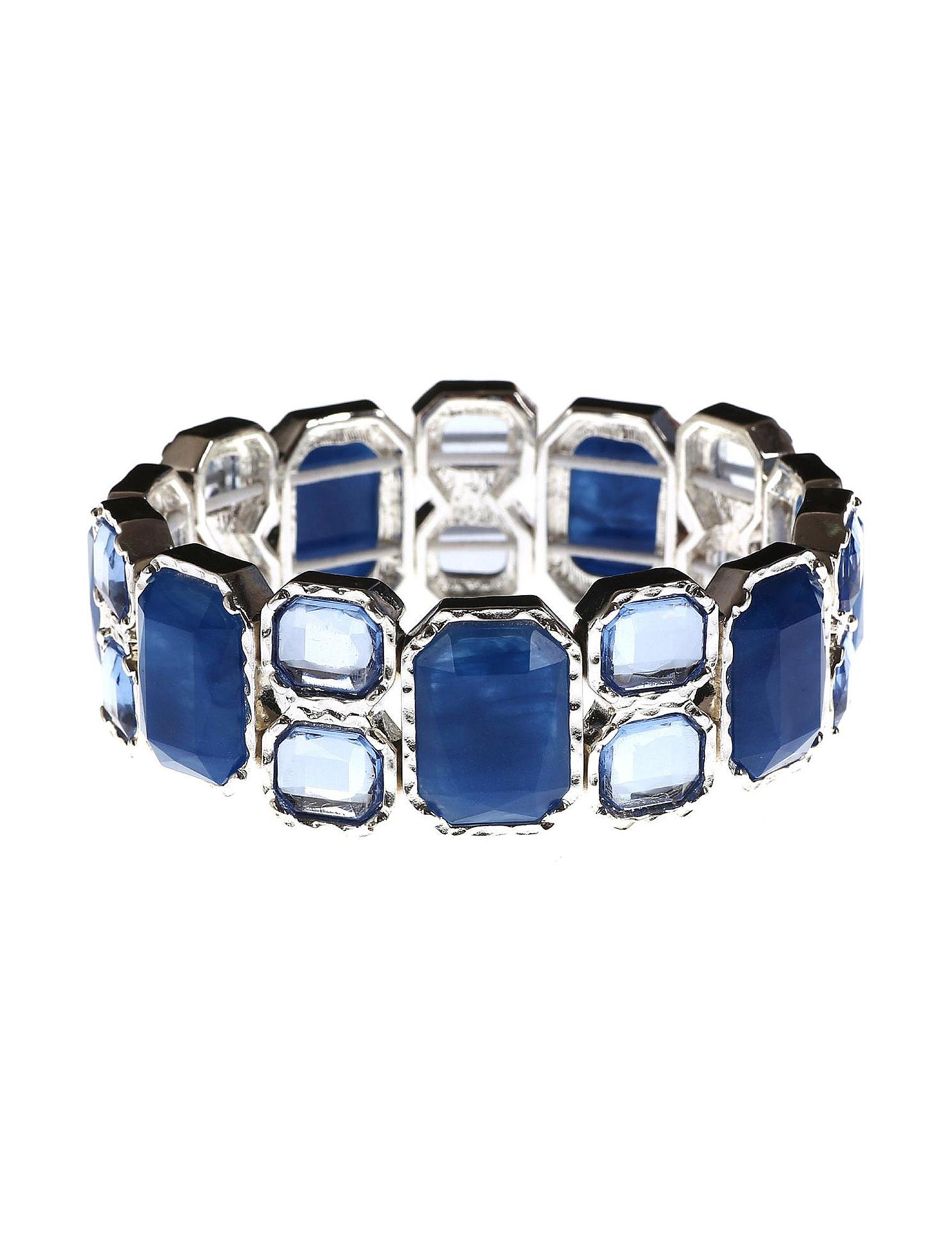 Gloria Vanderbilt Blue Bracelets Fashion Jewelry