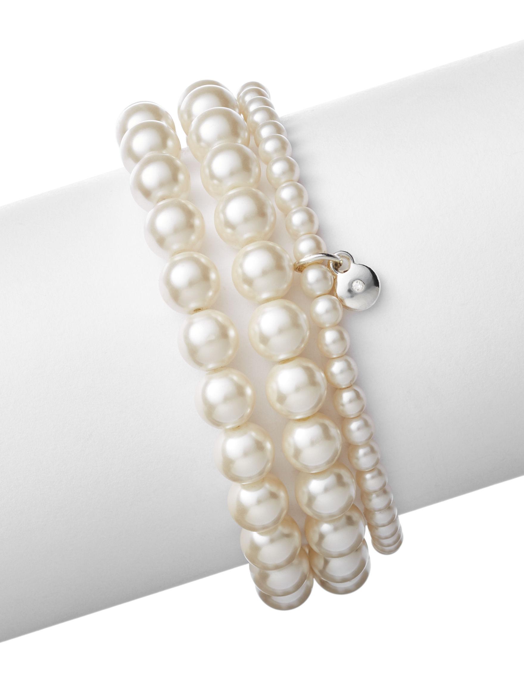 Hannah White / Silver Bracelets Jewelry Sets Fashion Jewelry