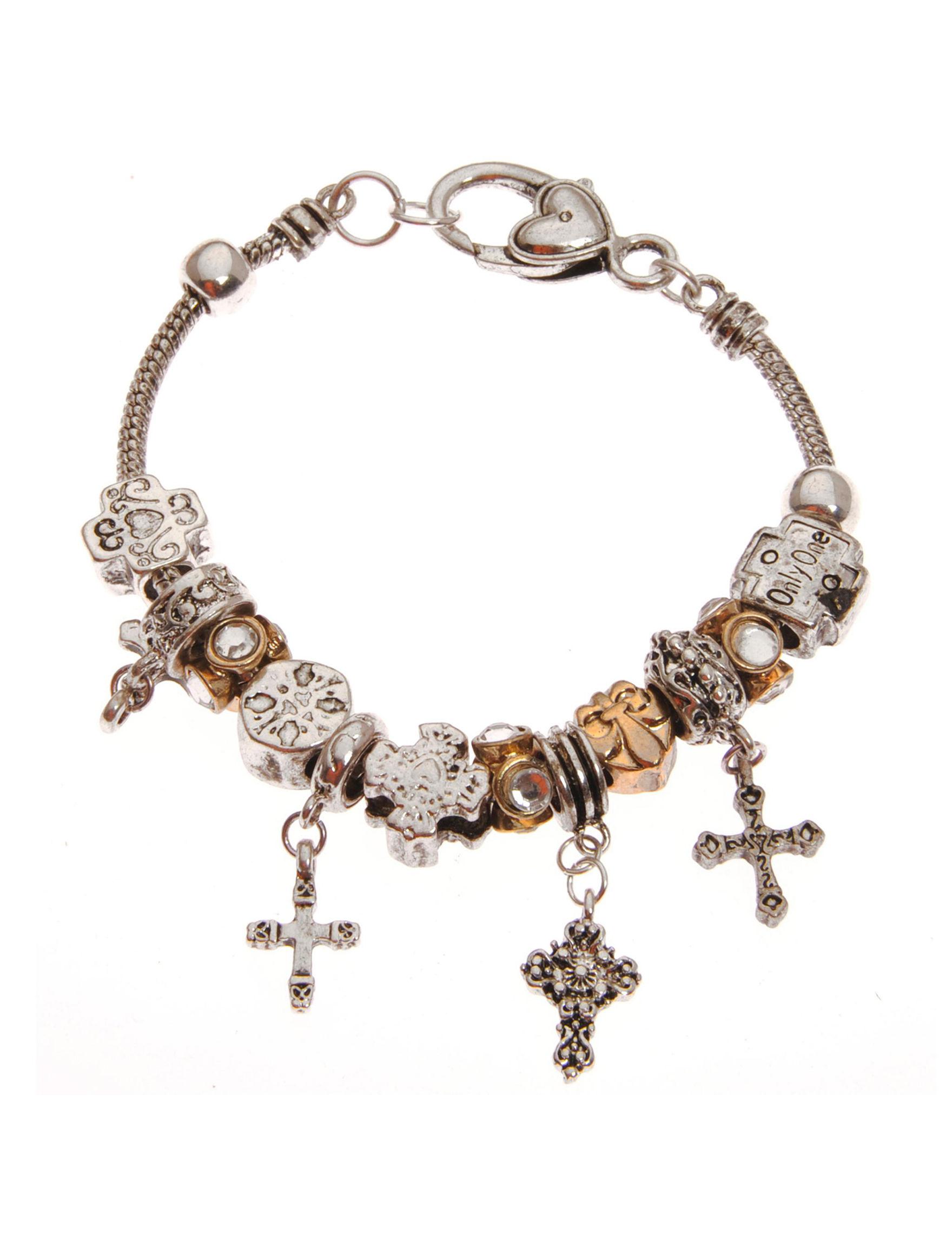 Tanya Two Tone Fashion Jewelry