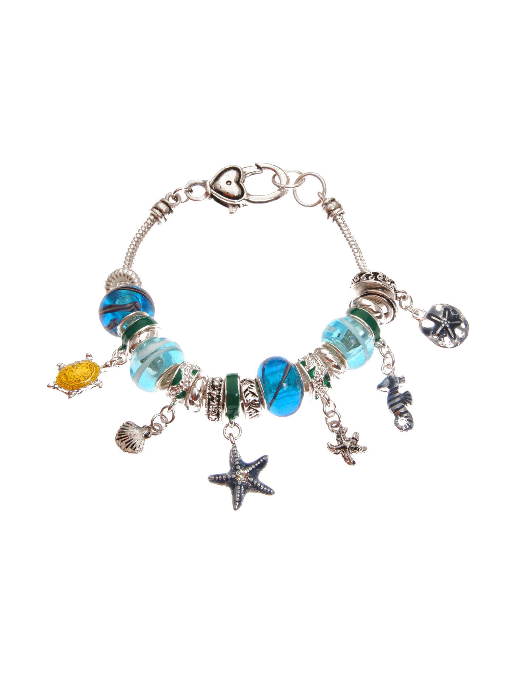Tanya Blue / Multi Bracelets Fashion Jewelry