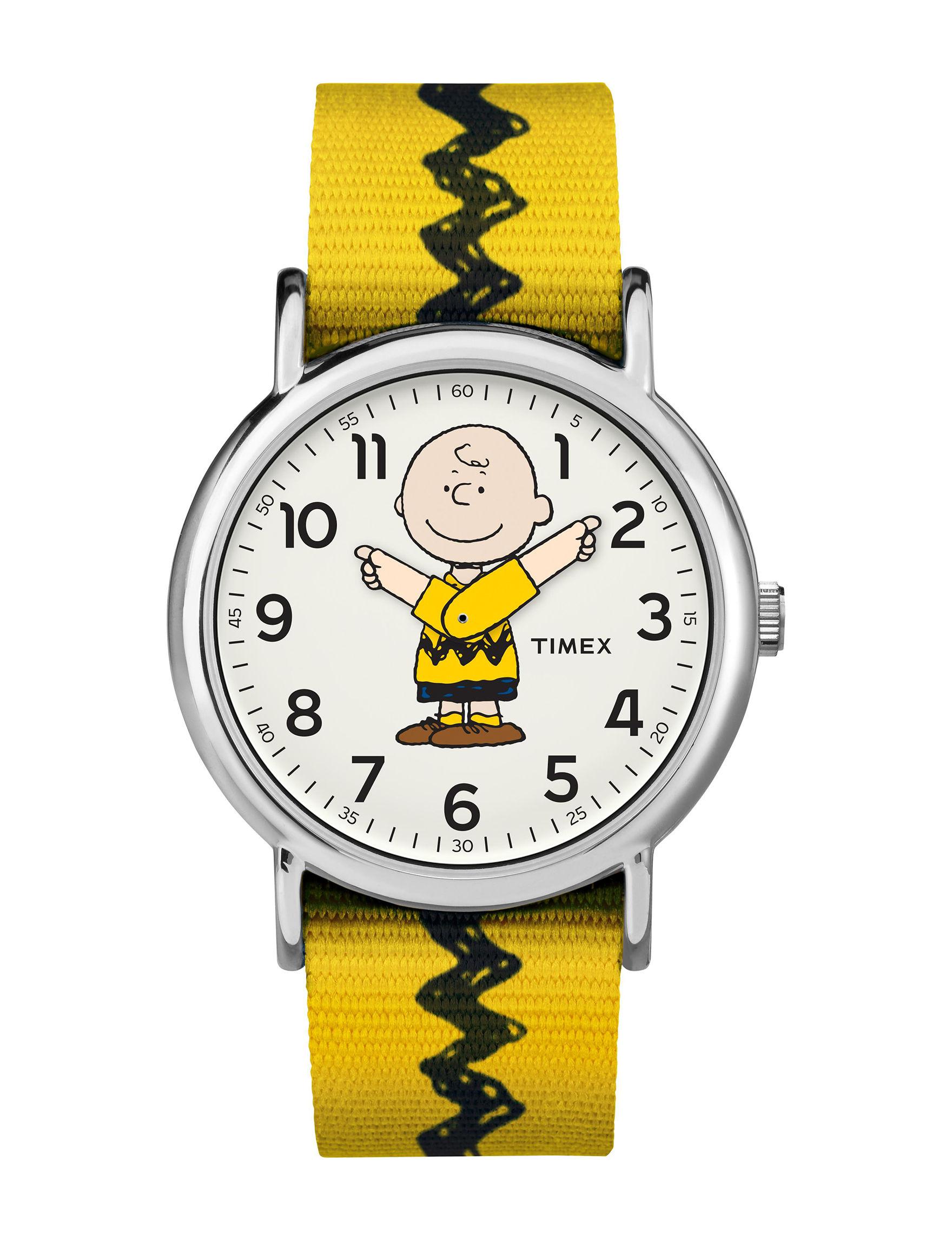 Timex Yellow Fashion Watches