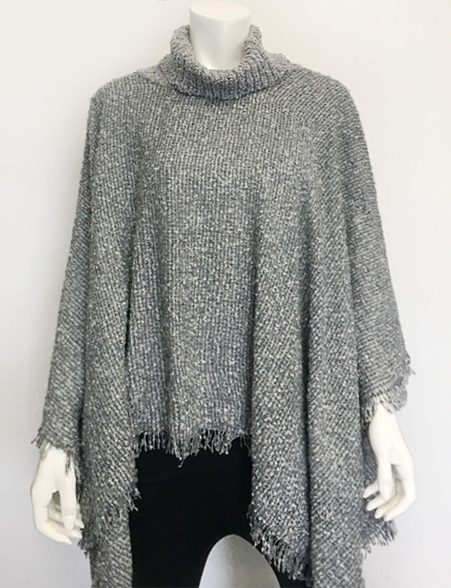 Jessica Simpson Boucle Knit Poncho | Stage Stores
