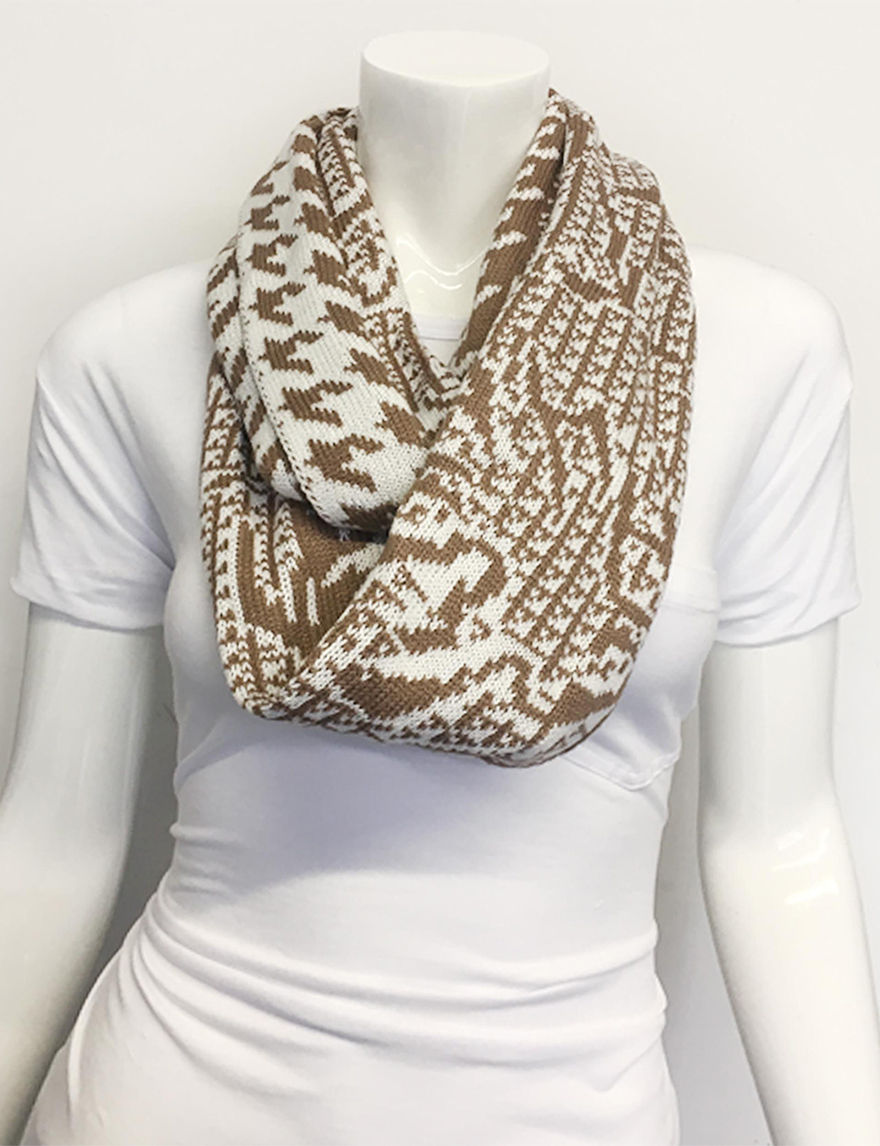 Lake Shore Drive Ivory Scarves & Wraps Infinity & Loops