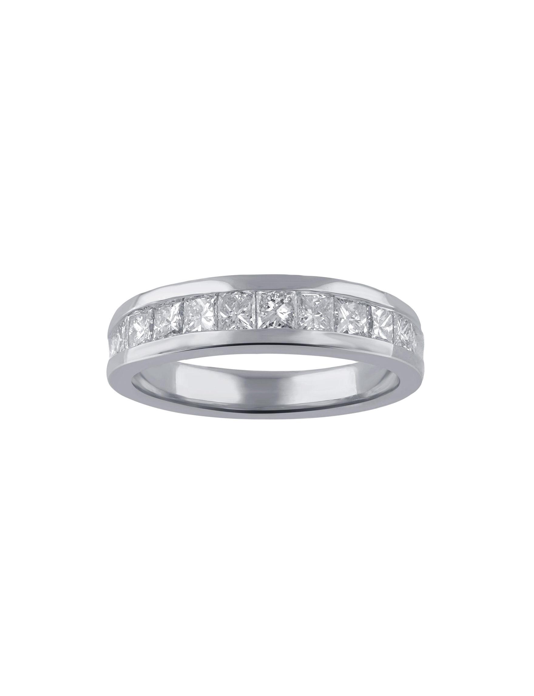 Kiran White Gold Rings Fine Jewelry