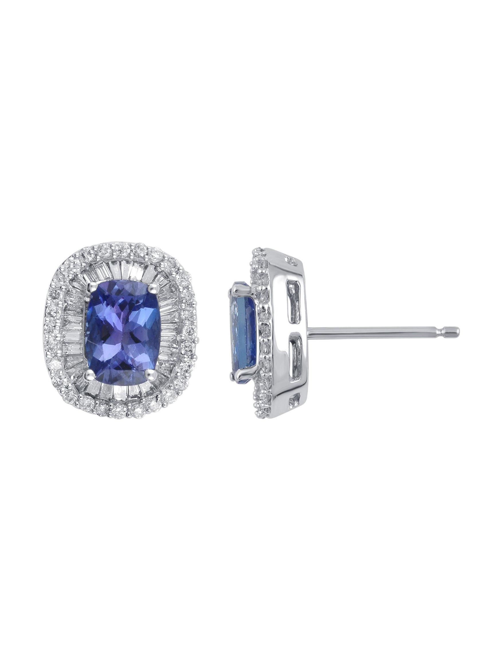 Kiran White Gold Earrings Fine Jewelry