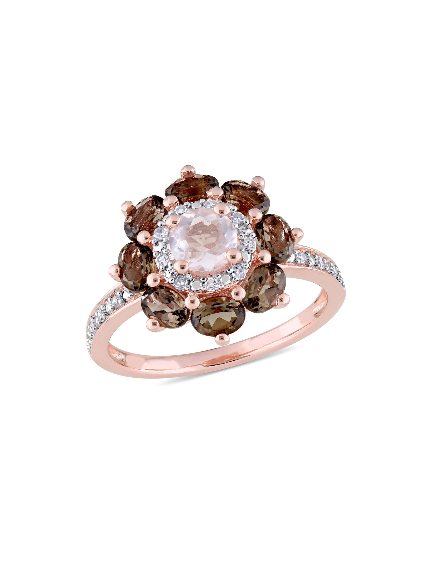 Laura Ashley Rose Gold Rings Fine Jewelry