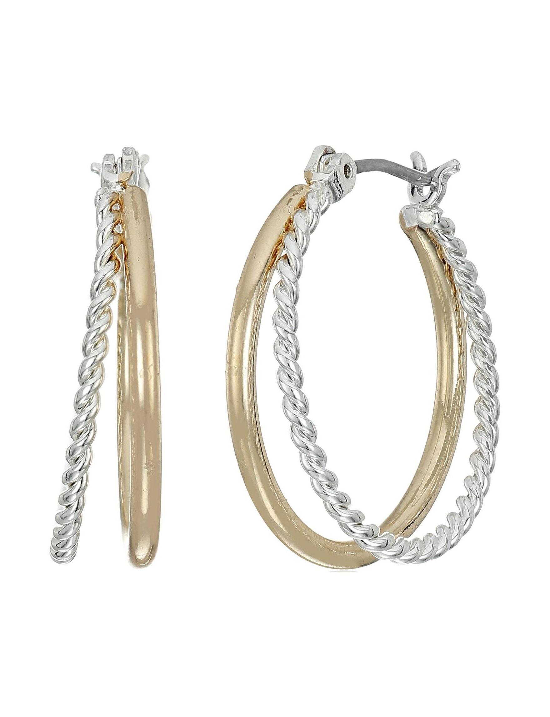 Napier Multi Hoops Earrings Fashion Jewelry