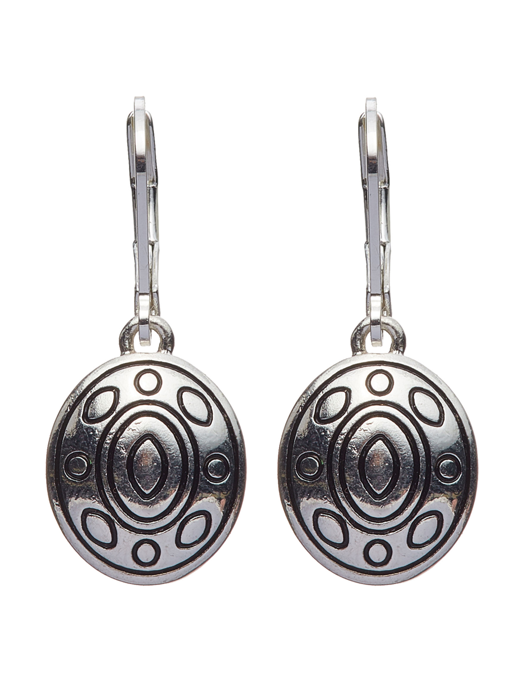 Napier Silver Drops Earrings Fashion Jewelry