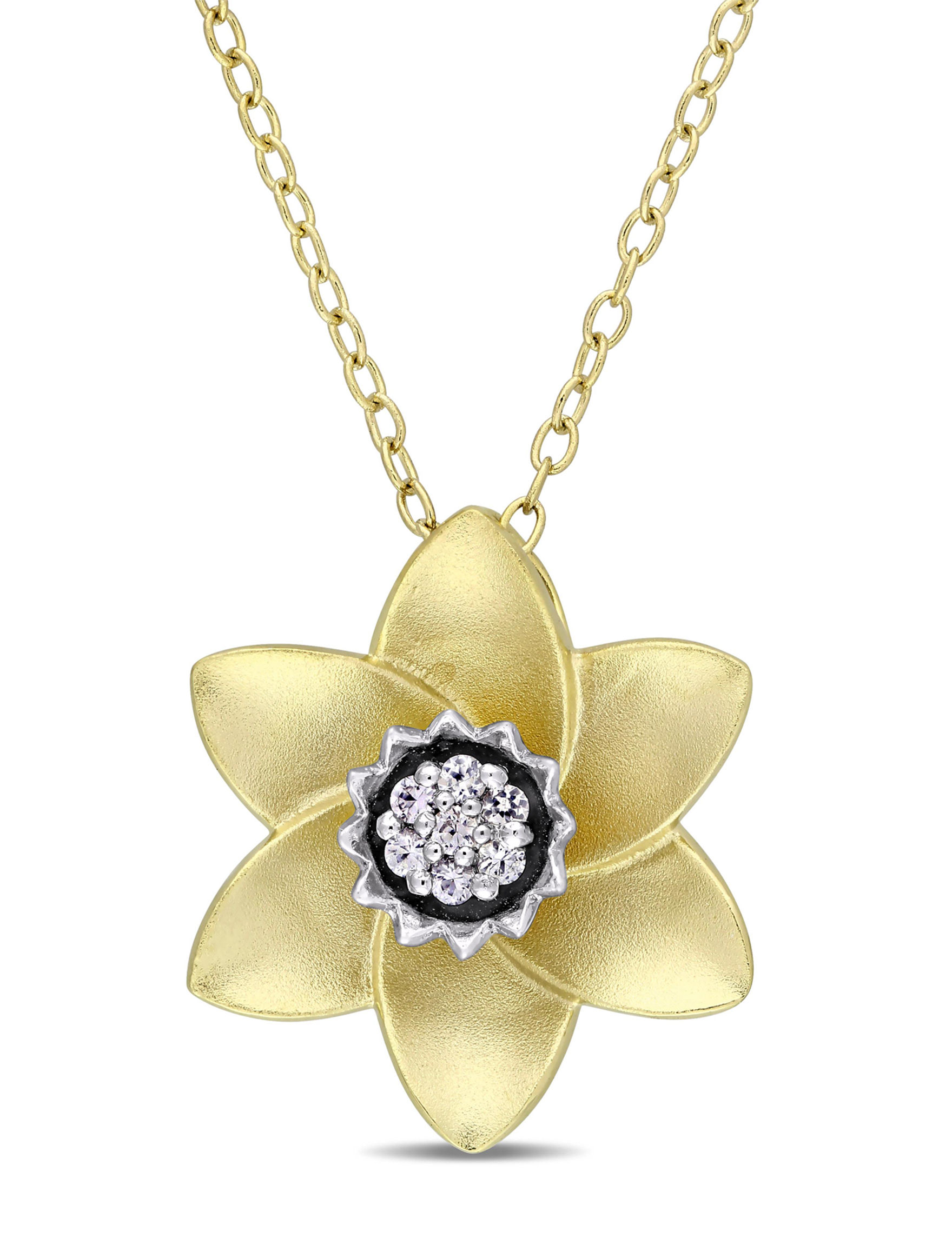 Laura Ashley Gold Necklaces & Pendants Fine Jewelry