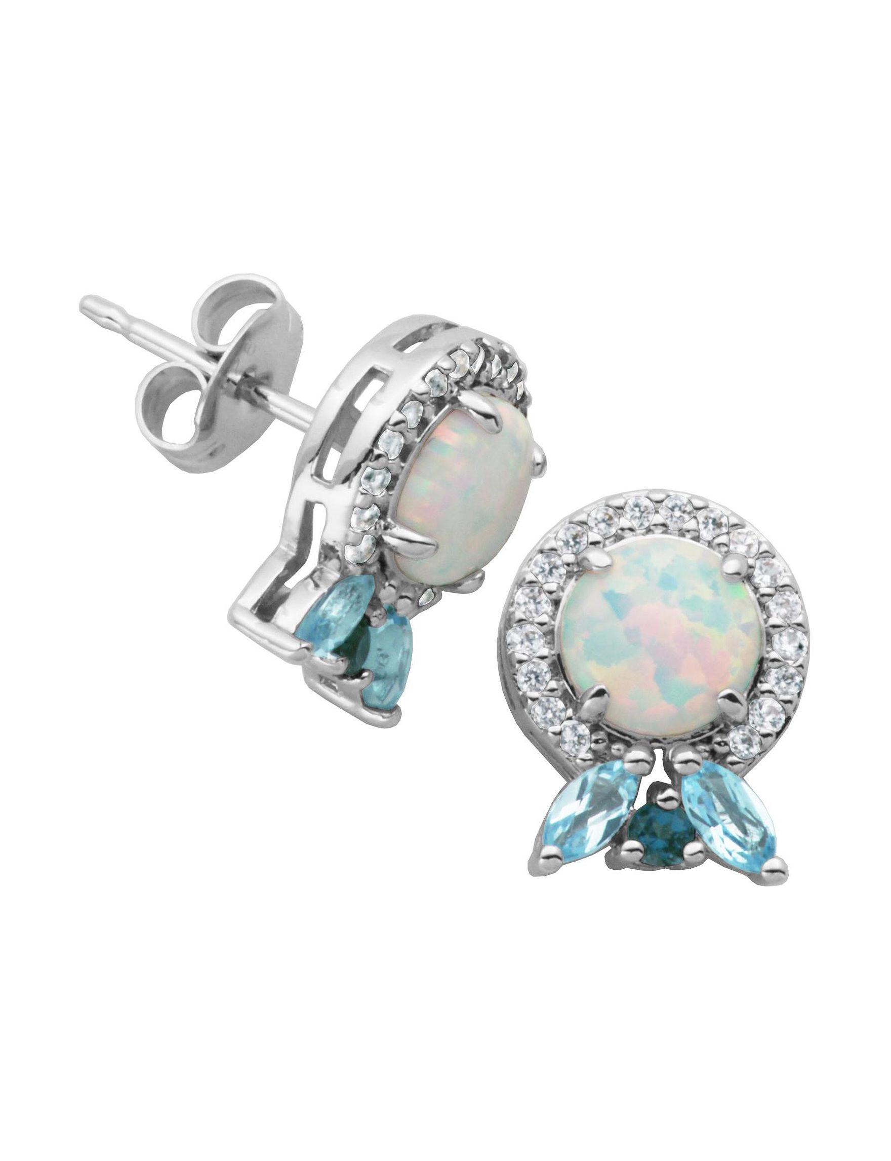 PAJ INC. Silver Studs Earrings Fine Jewelry