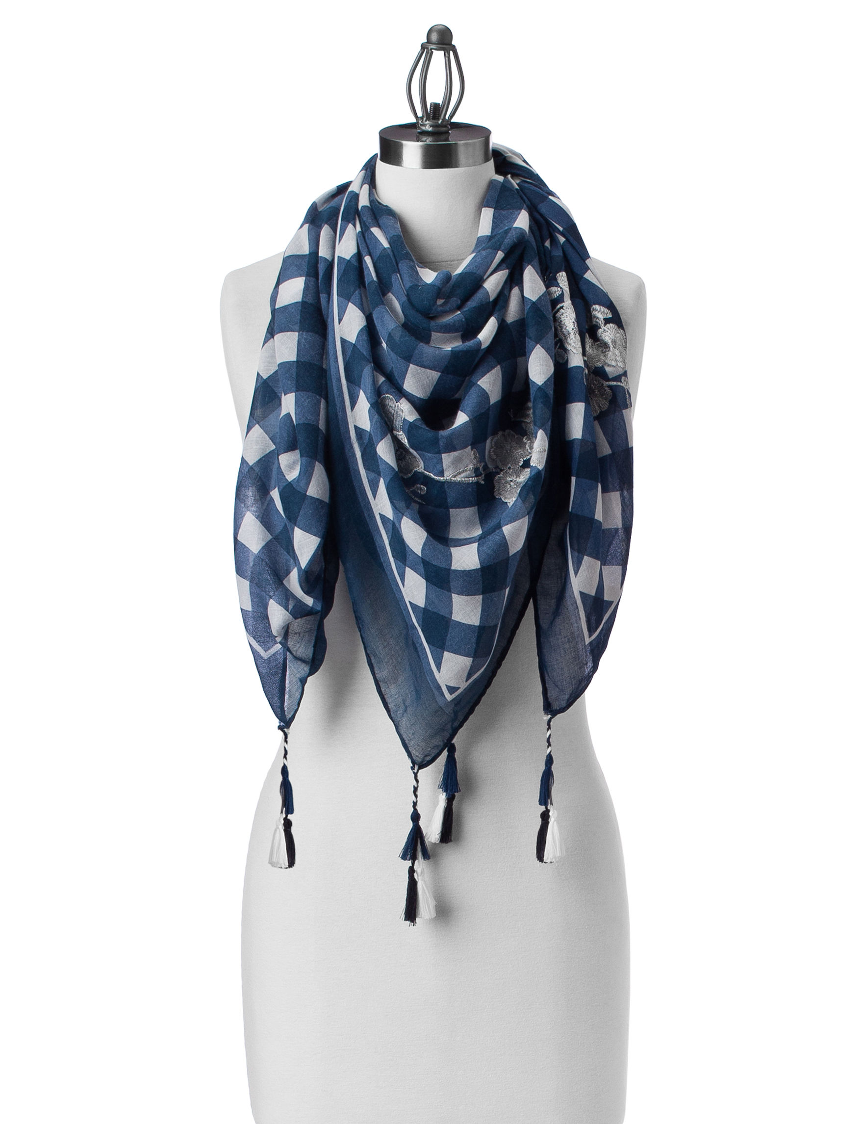 Lake Shore Drive Blue Scarves & Wraps Scarves
