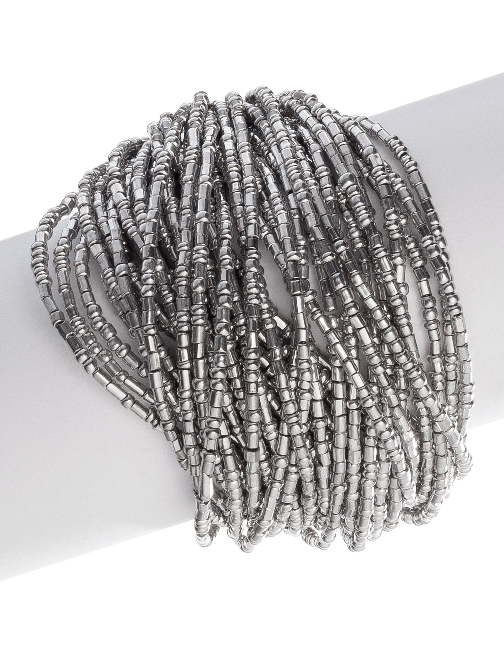 Signature Studio Silver Bracelets Fashion Jewelry