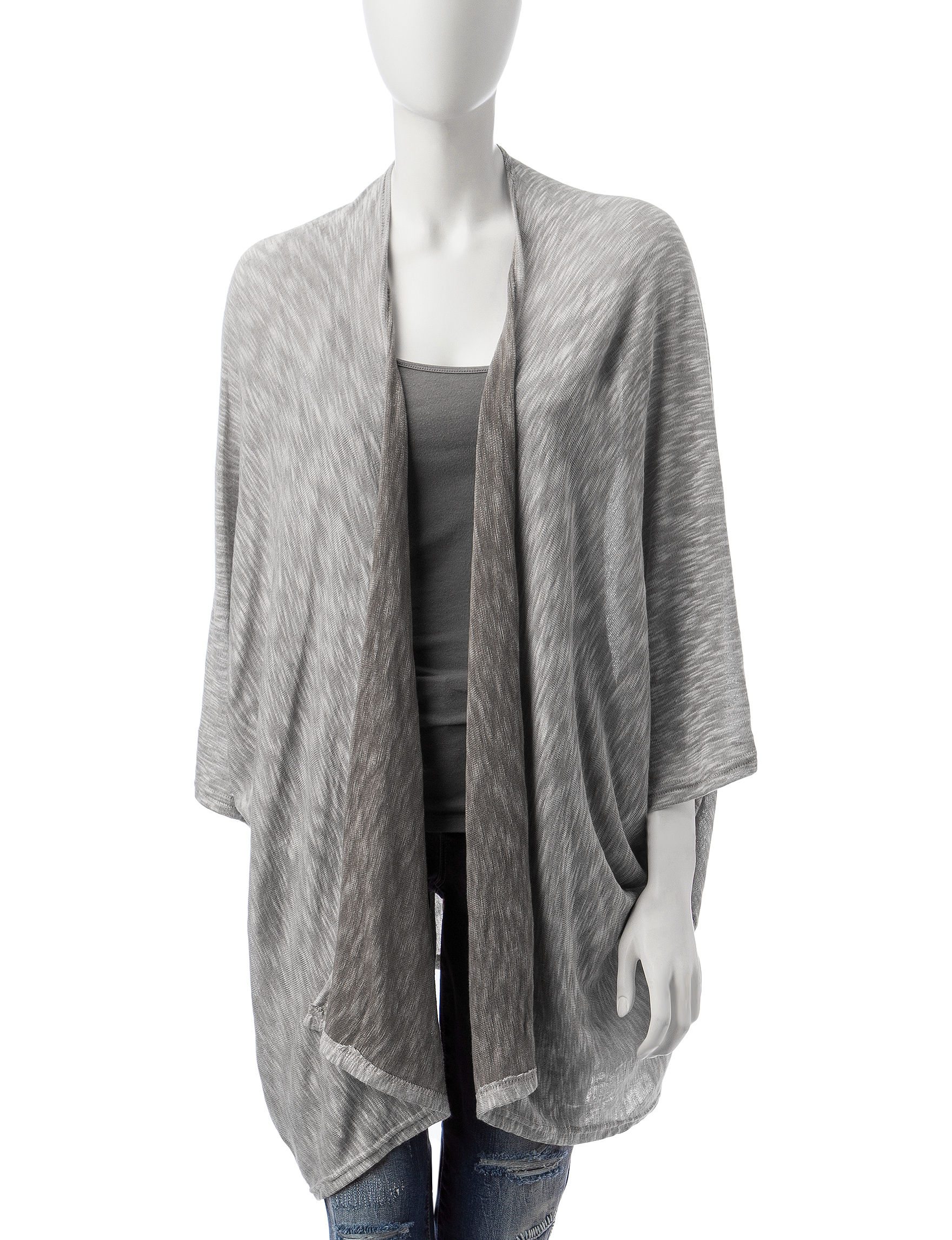 Rafaella Grey Kimonos & Toppers Scarves & Wraps
