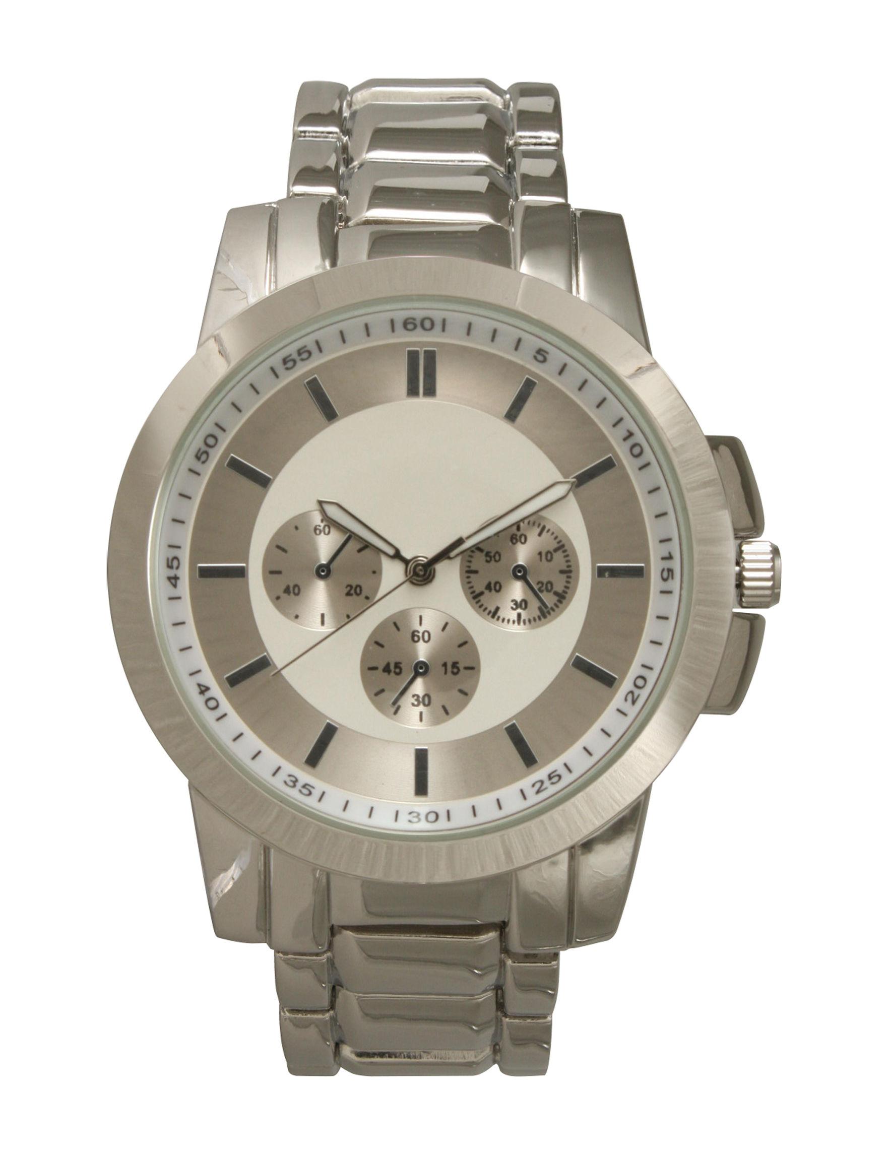 Olivia Pratt Silver Fashion Watches
