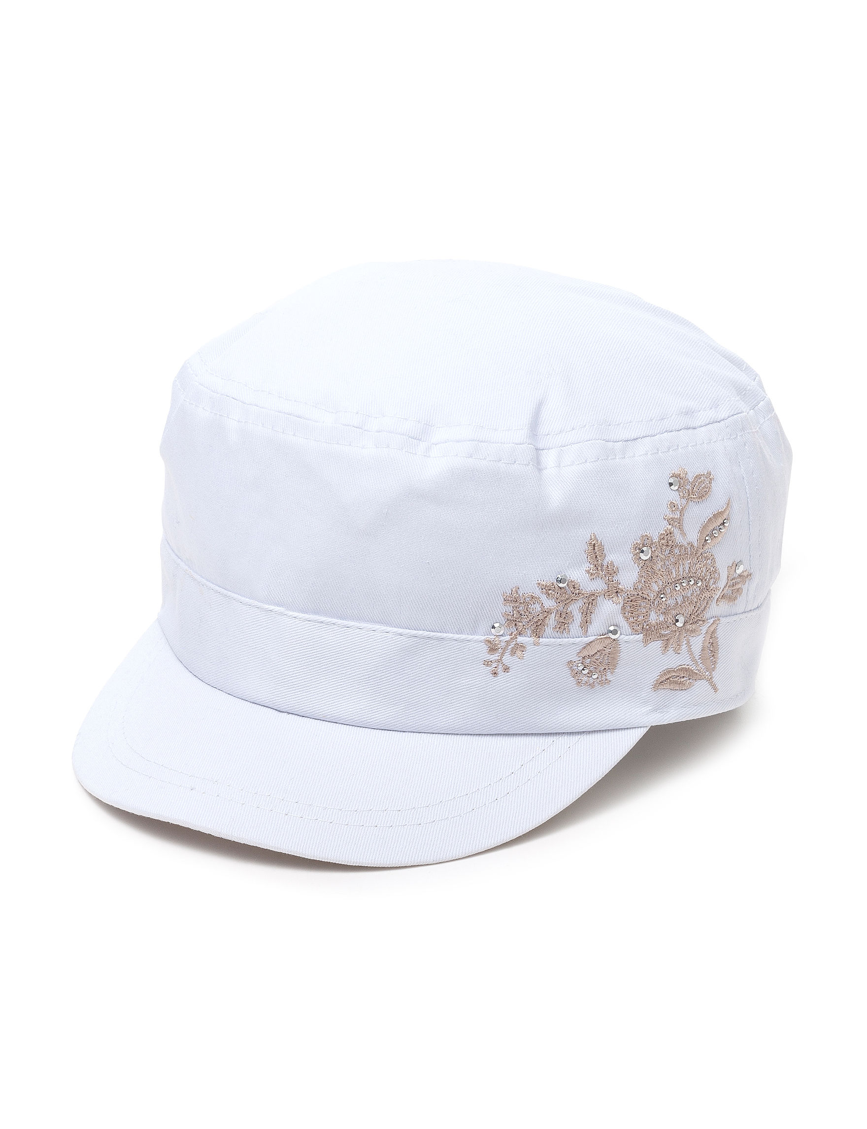 Columbino White Hats & Headwear