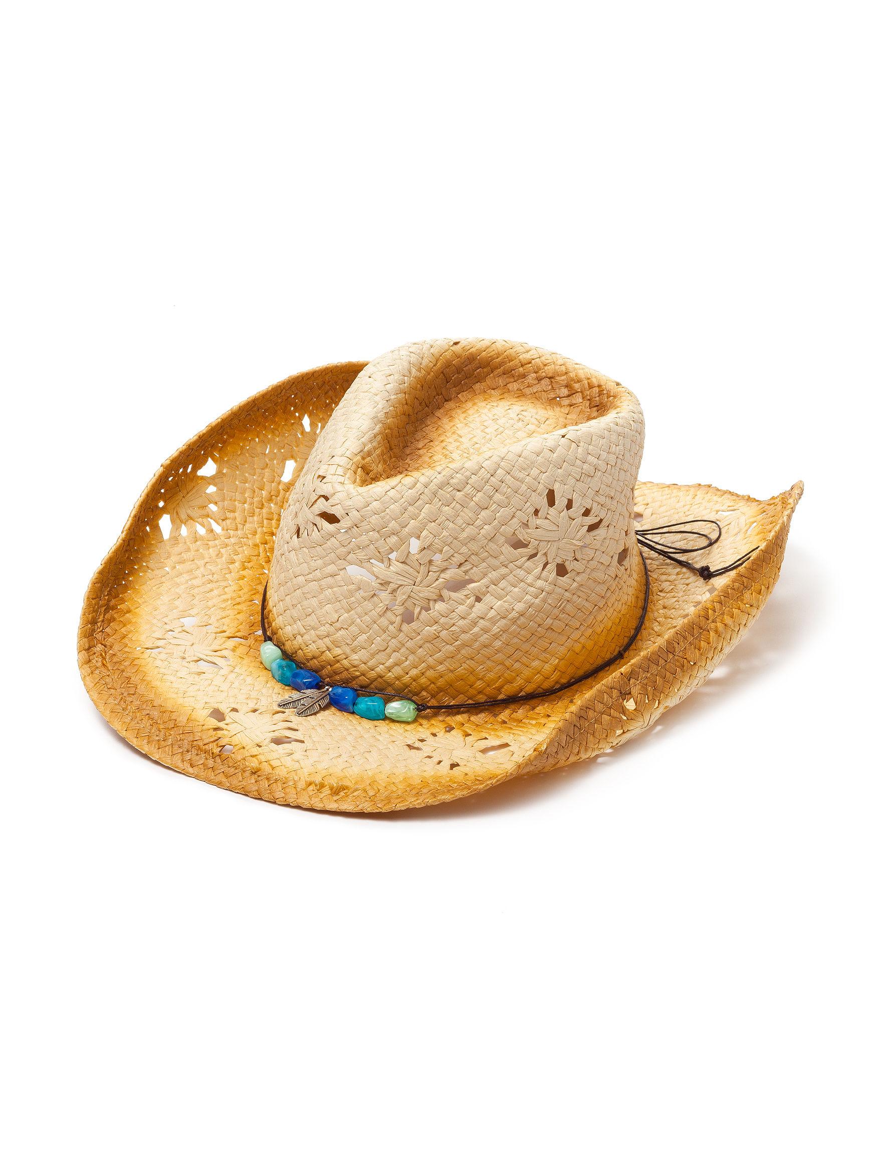 Columbino Beige Hats & Headwear