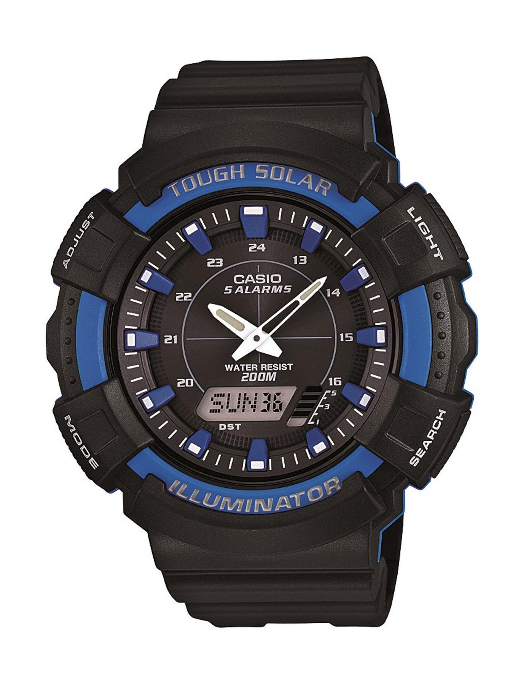 Casio Blue Sport Watches Accessories
