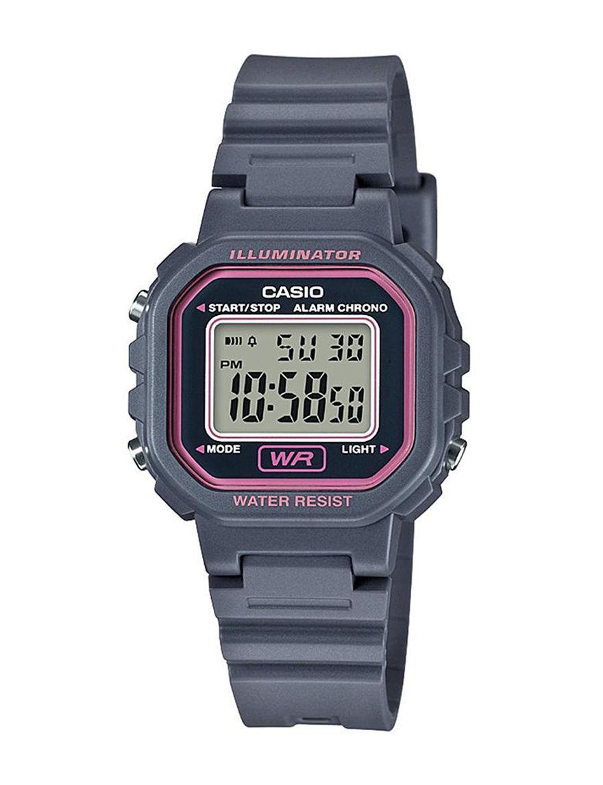 Casio Grey Sport Watches