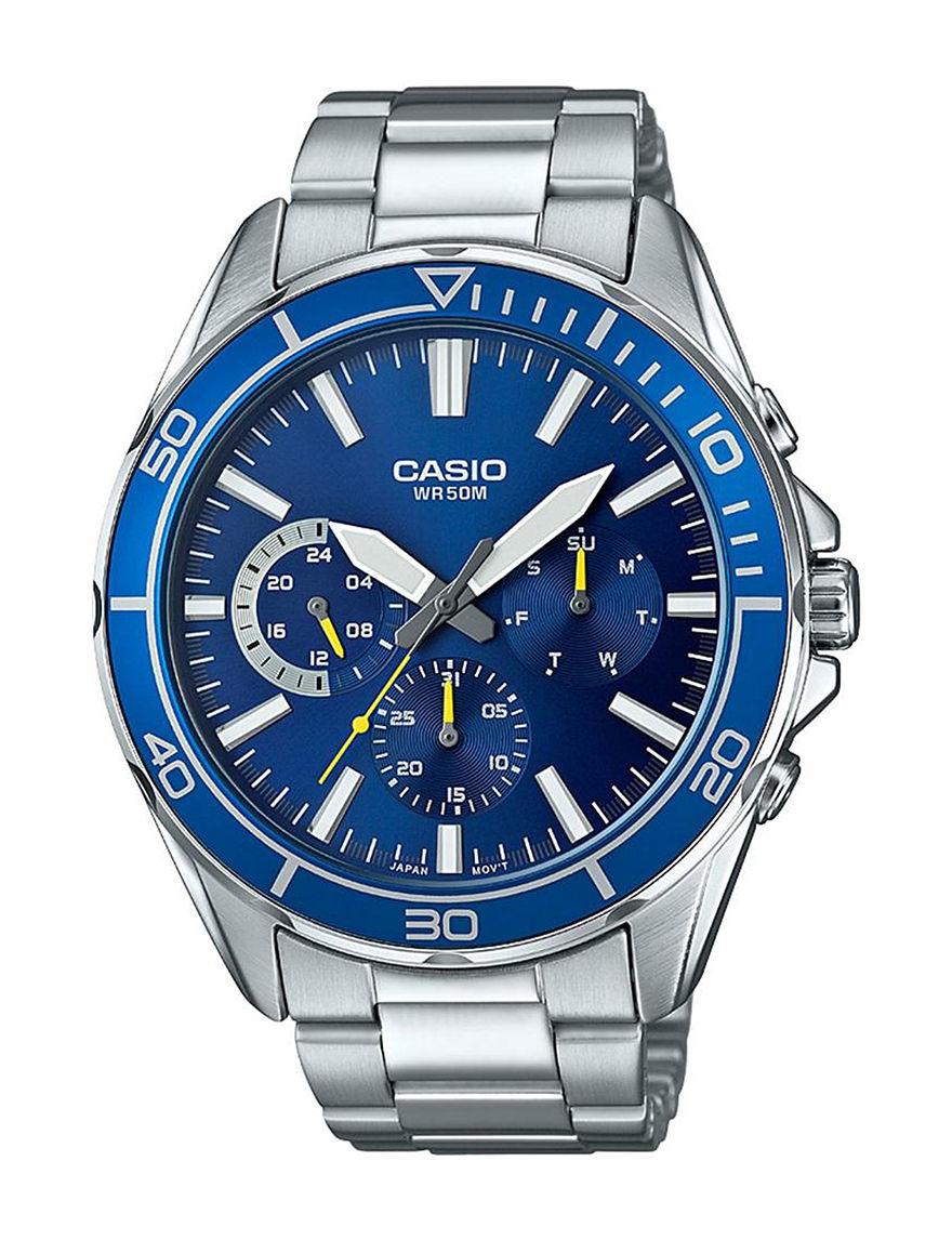 Casio Silver Fashion Watches