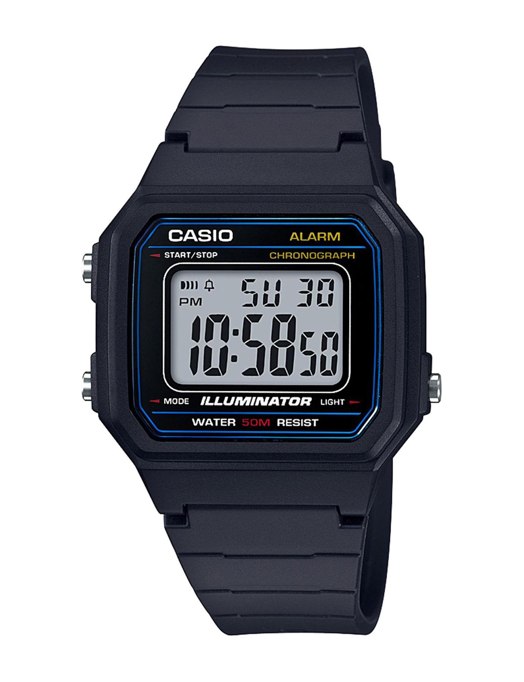 Casio Black Sport Watches