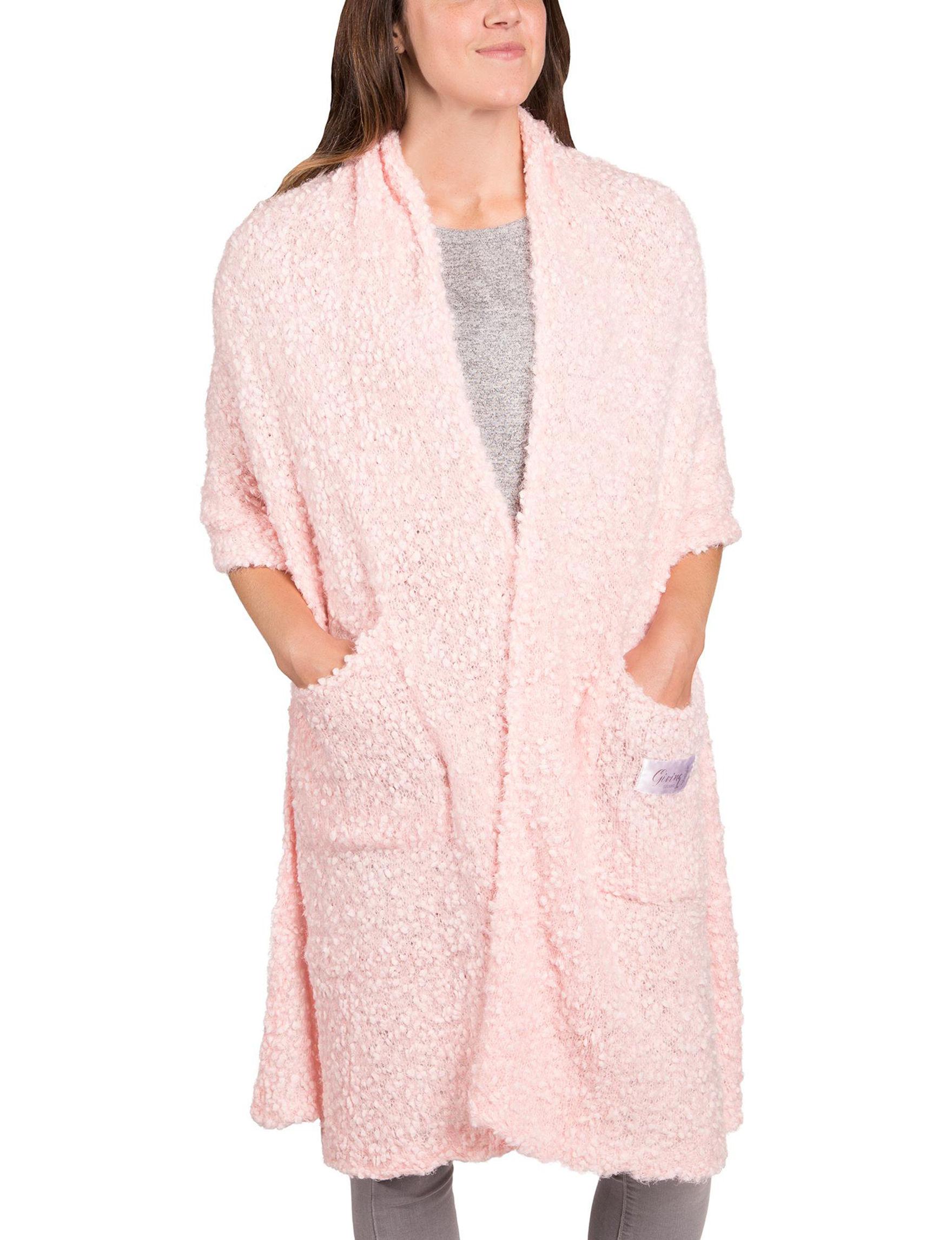 Demdaco Pink Sweater Vests