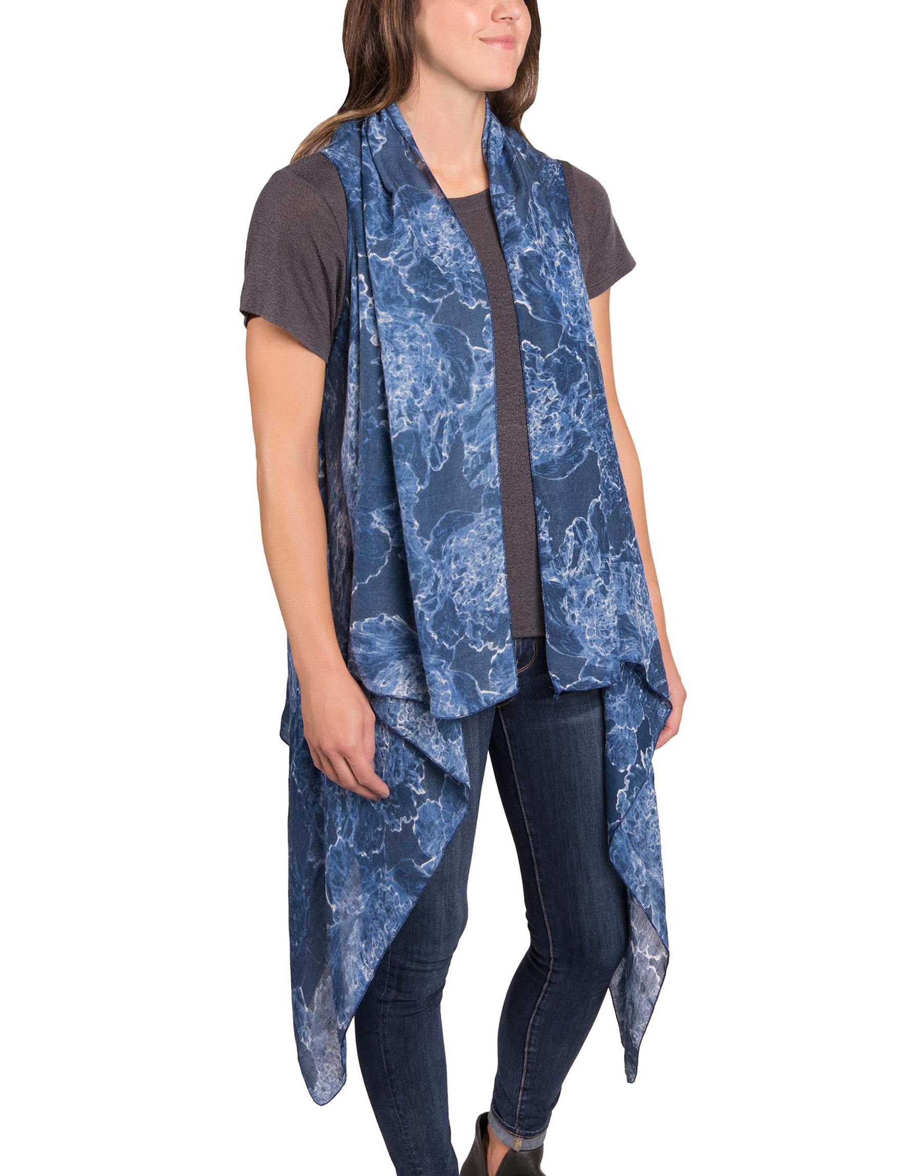 Demdaco Blue Scarves & Wraps