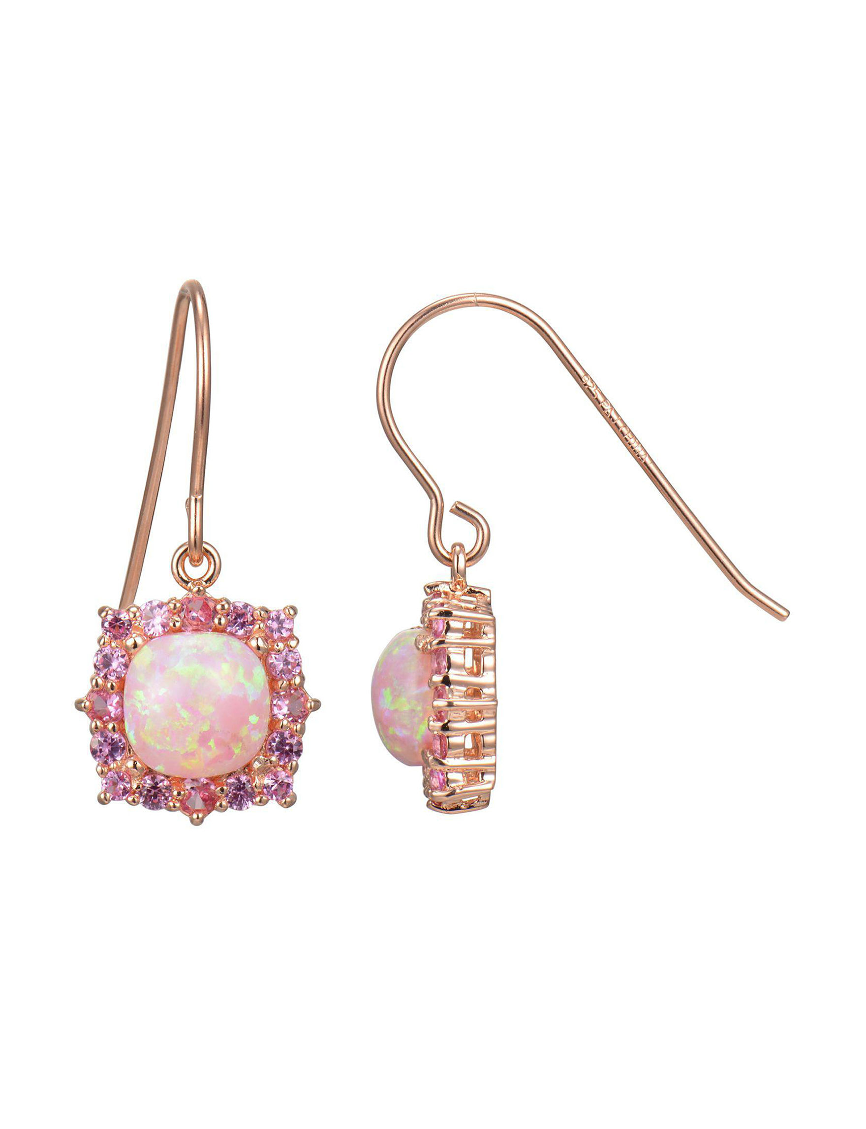 PAJ INC. Rose Gold Earrings Fine Jewelry