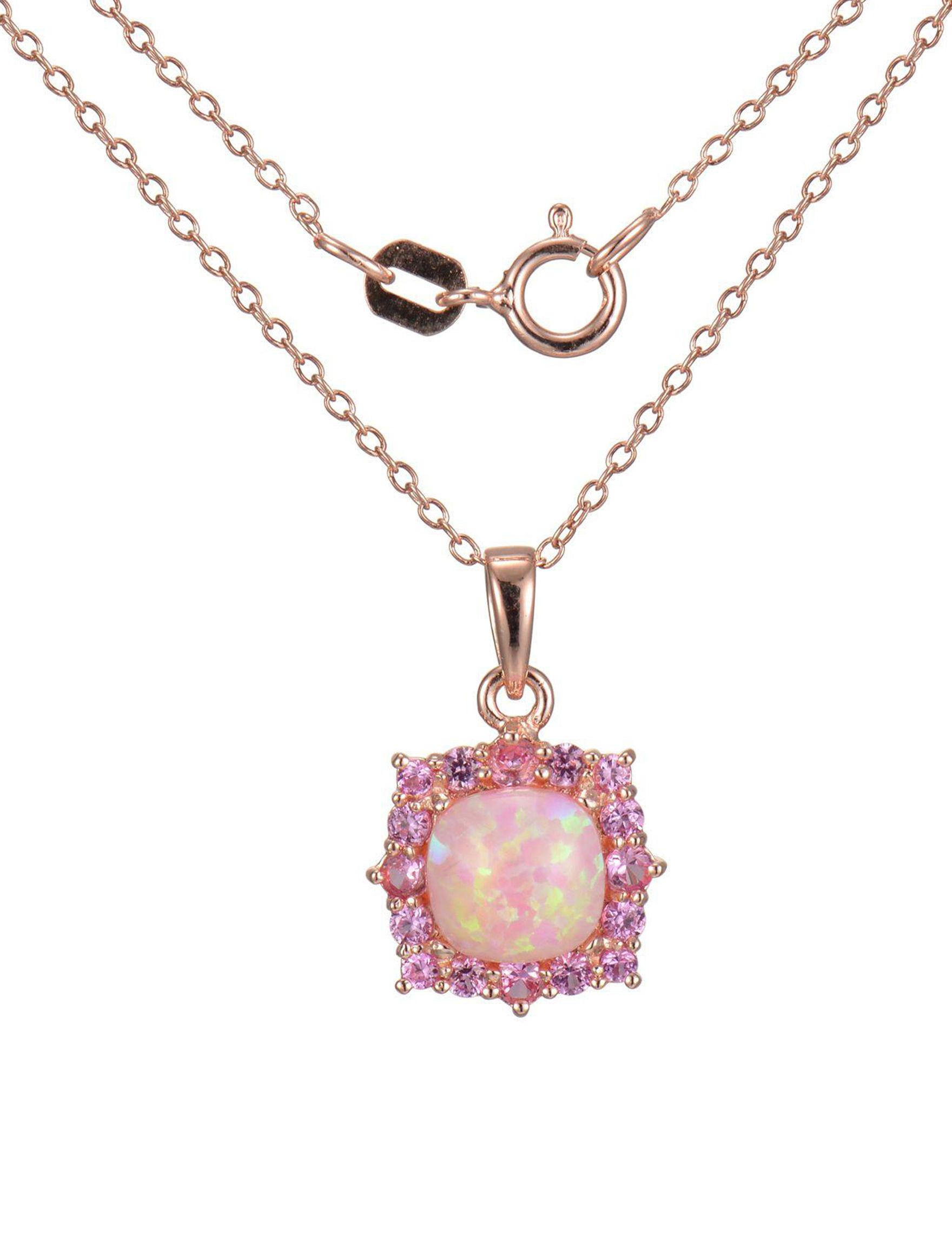 PAJ INC. Rose Gold Necklaces & Pendants