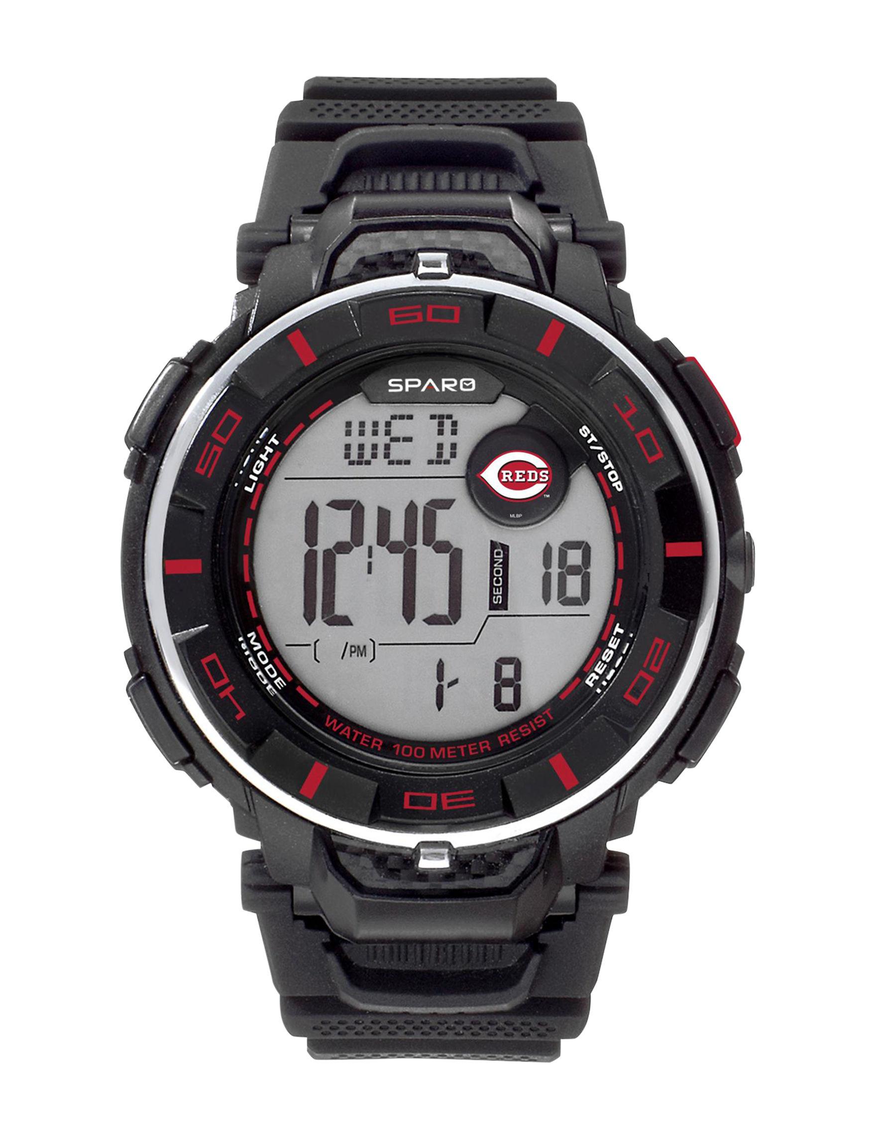 Sparo Red Sport Watches