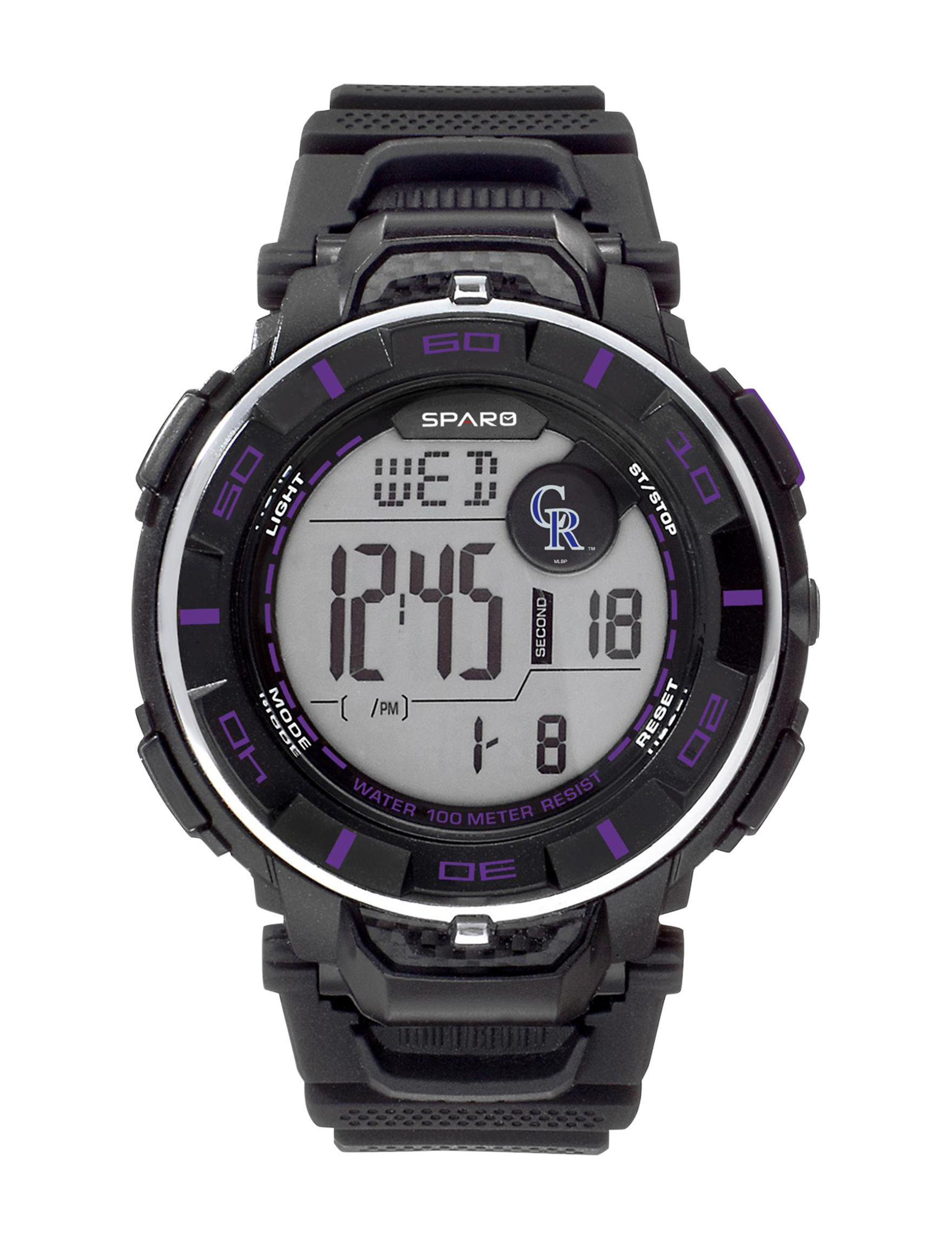 Sparo Purple Sport Watches