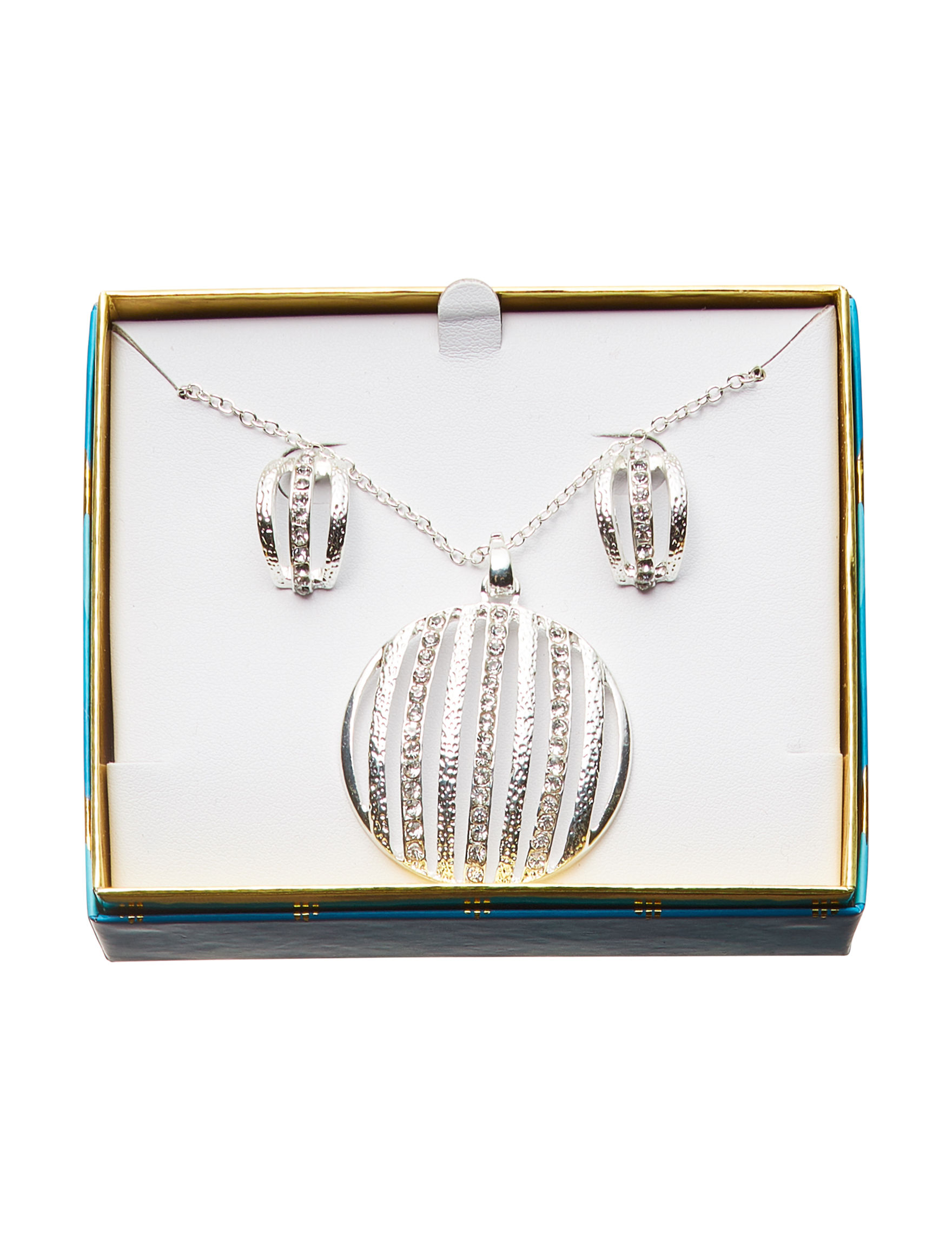Tanya Silver Studs Earrings Jewelry Sets Necklaces & Pendants Fashion Jewelry