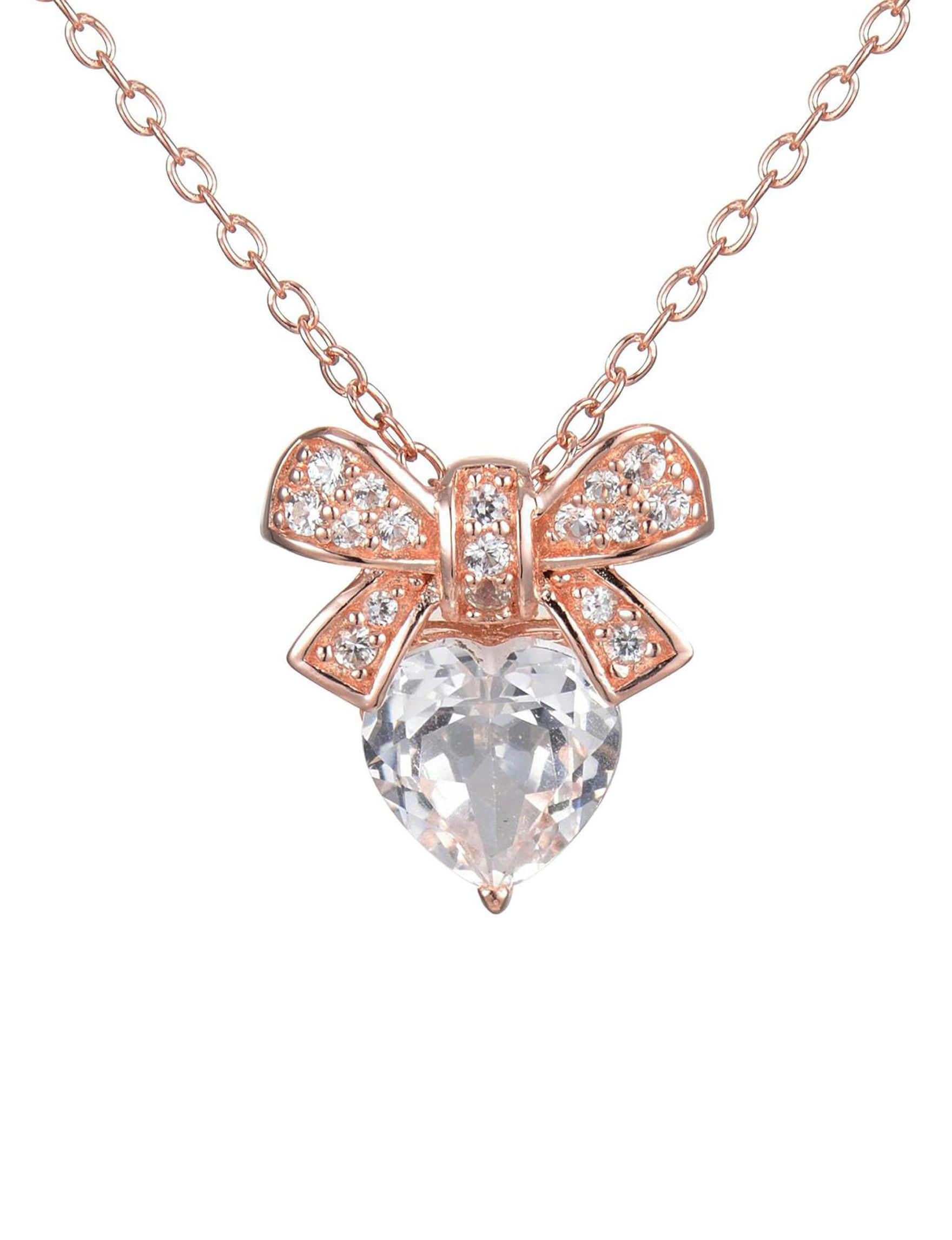 PAJ INC. Rose Gold Necklaces & Pendants Fine Jewelry