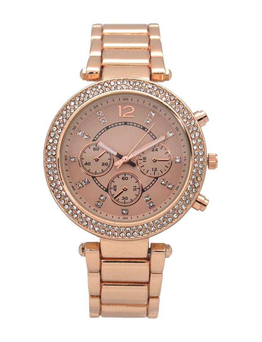 Olivia Pratt Rose Gold Fashion Watches