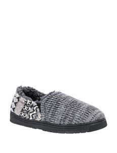 Muk Luks Grey Slipper Shoes
