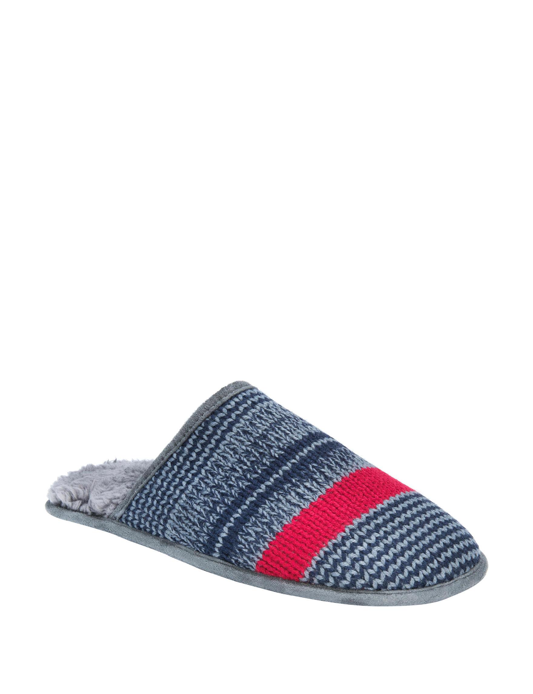 Muk Luks Blue Slipper Shoes