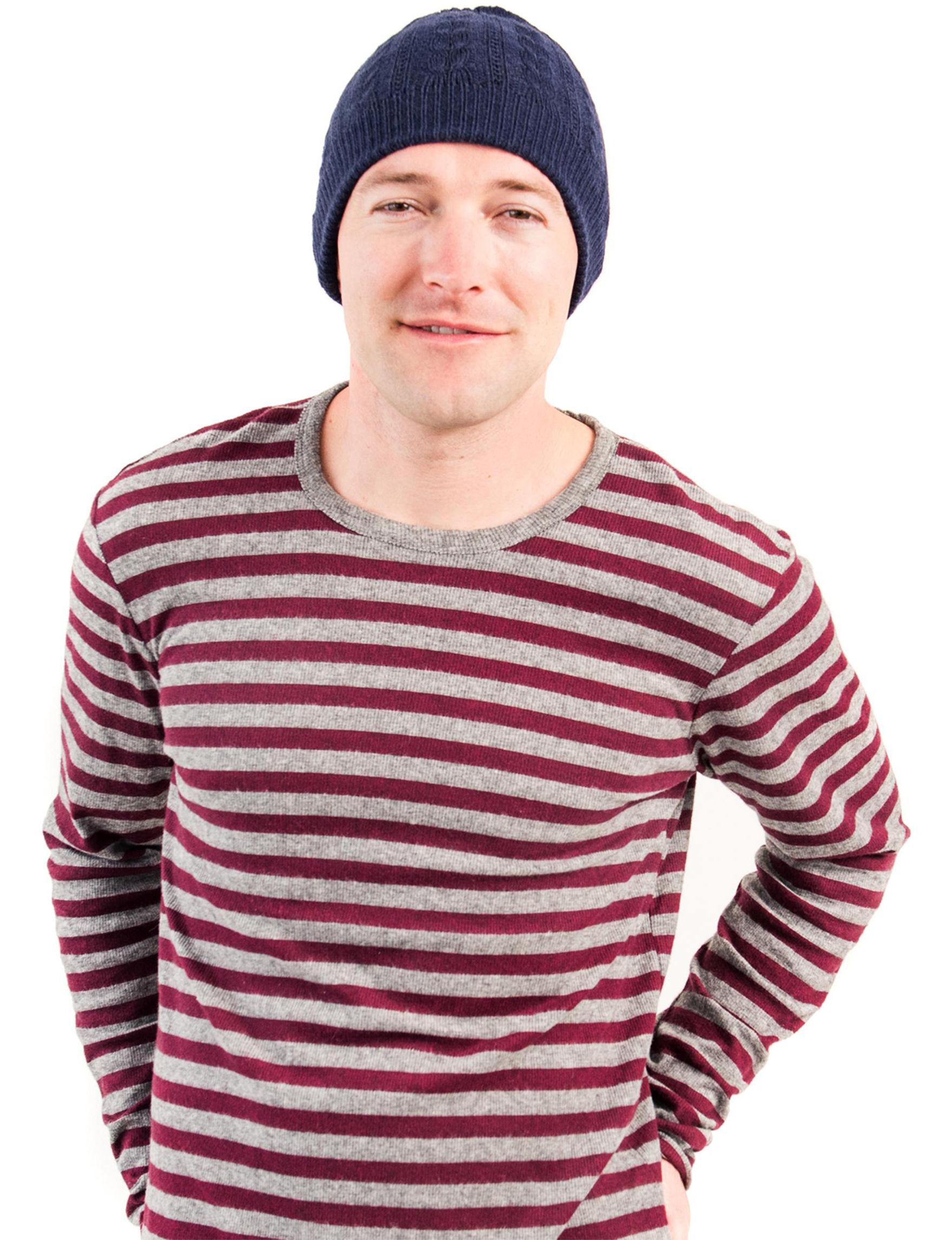 Muk Luks Blue Hats & Headwear