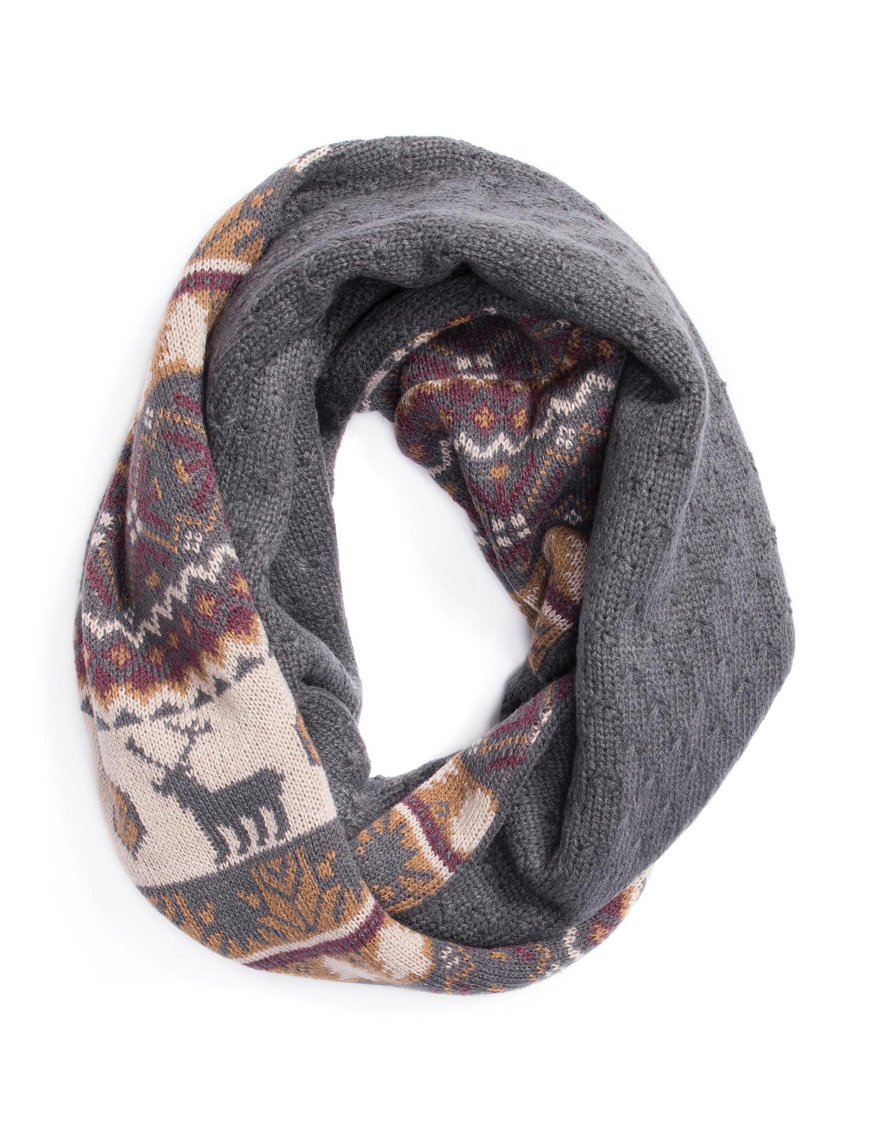 Muk Luks Brown Scarves & Wraps