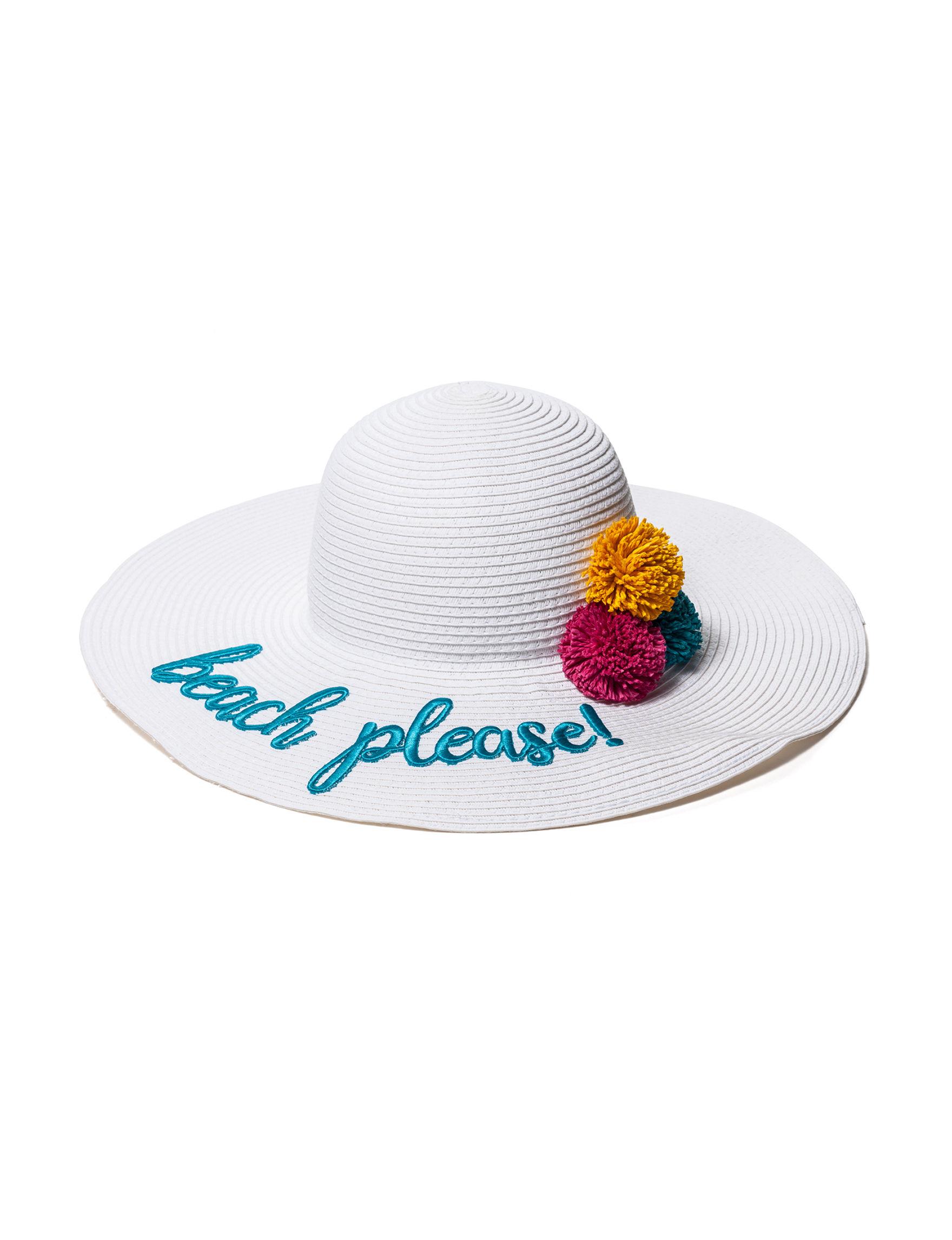 Lake Shore Drive White Hats & Headwear