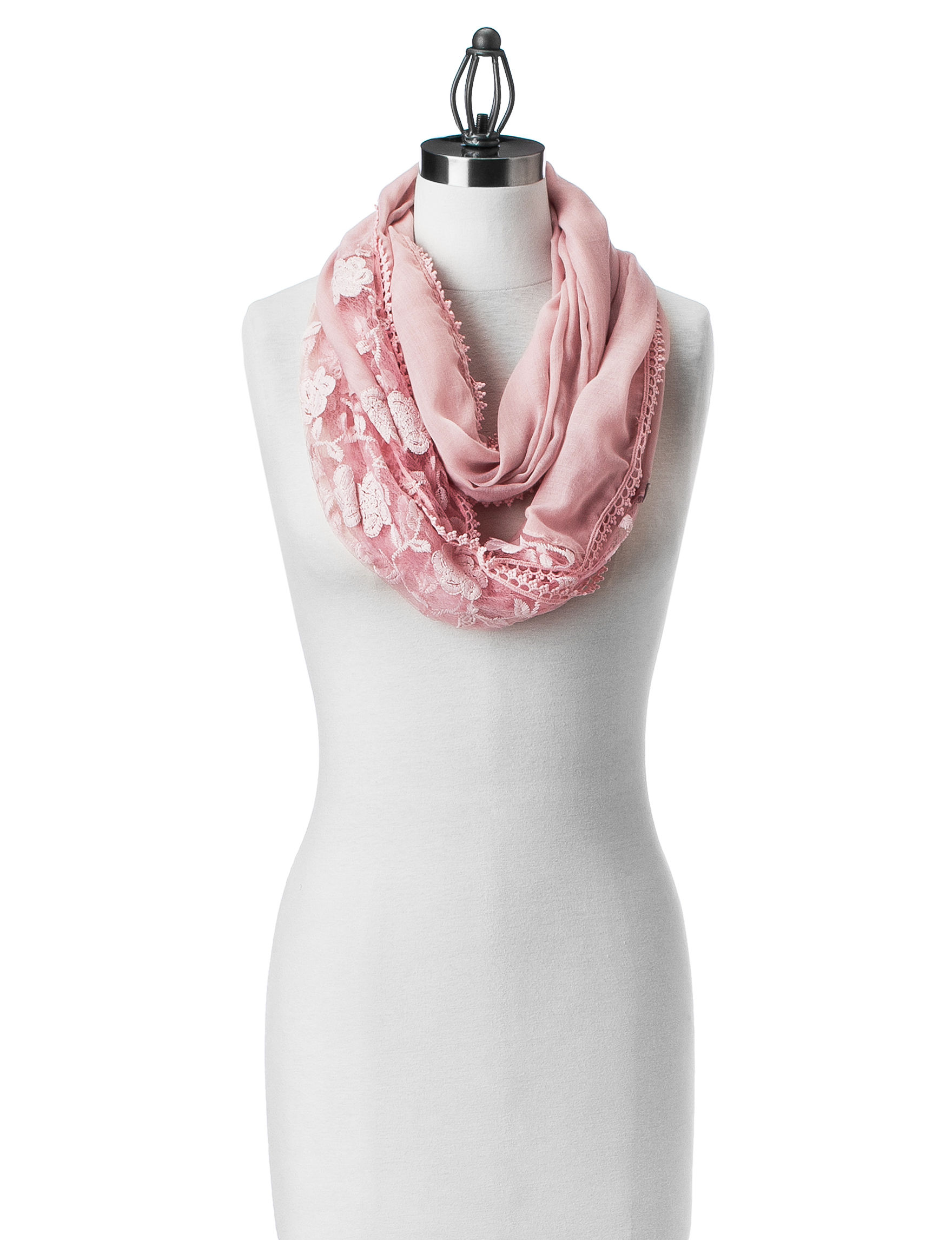 Lake Shore Drive Pink Scarves & Wraps Infinity & Loops