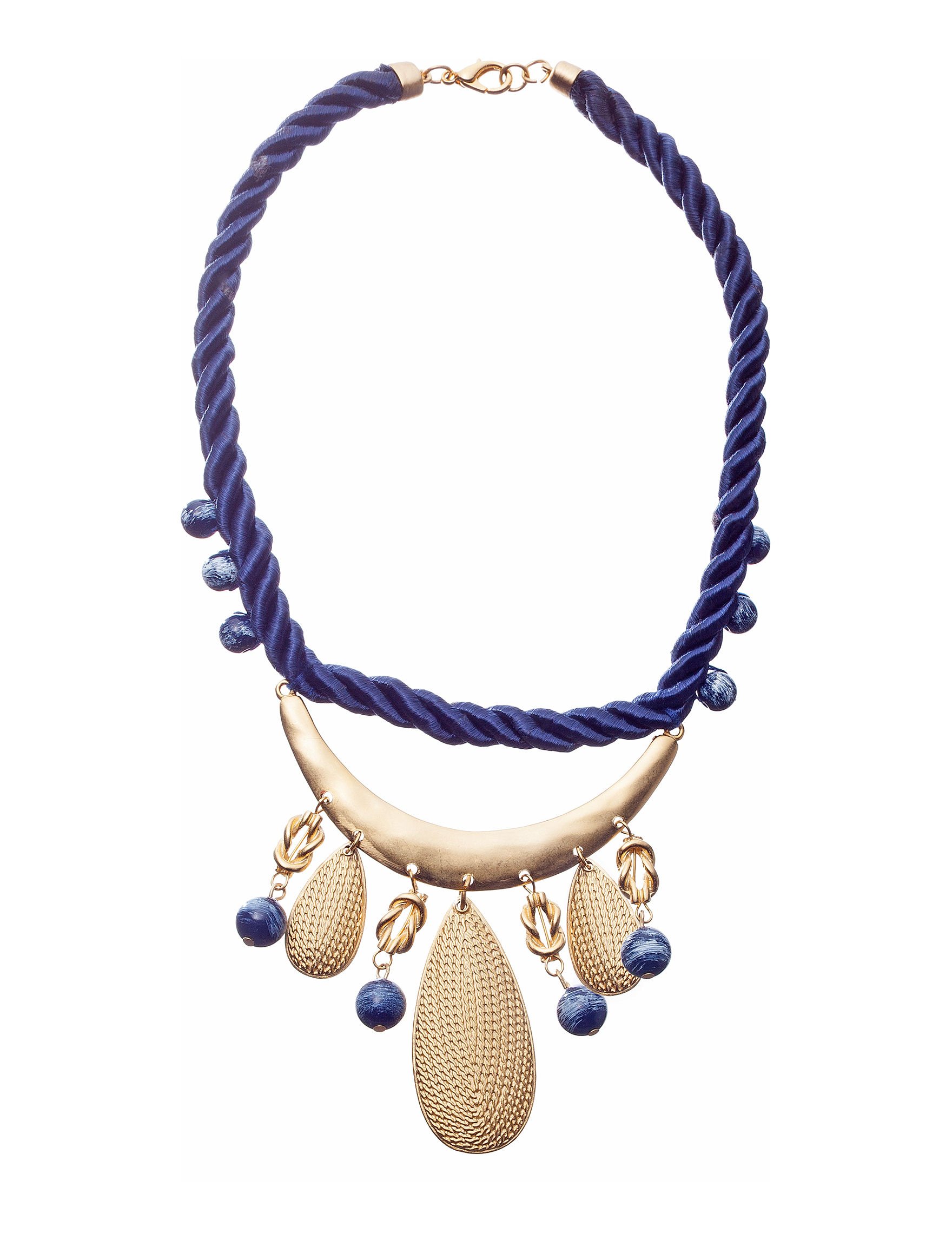Hannah Navy Necklaces & Pendants Fashion Jewelry