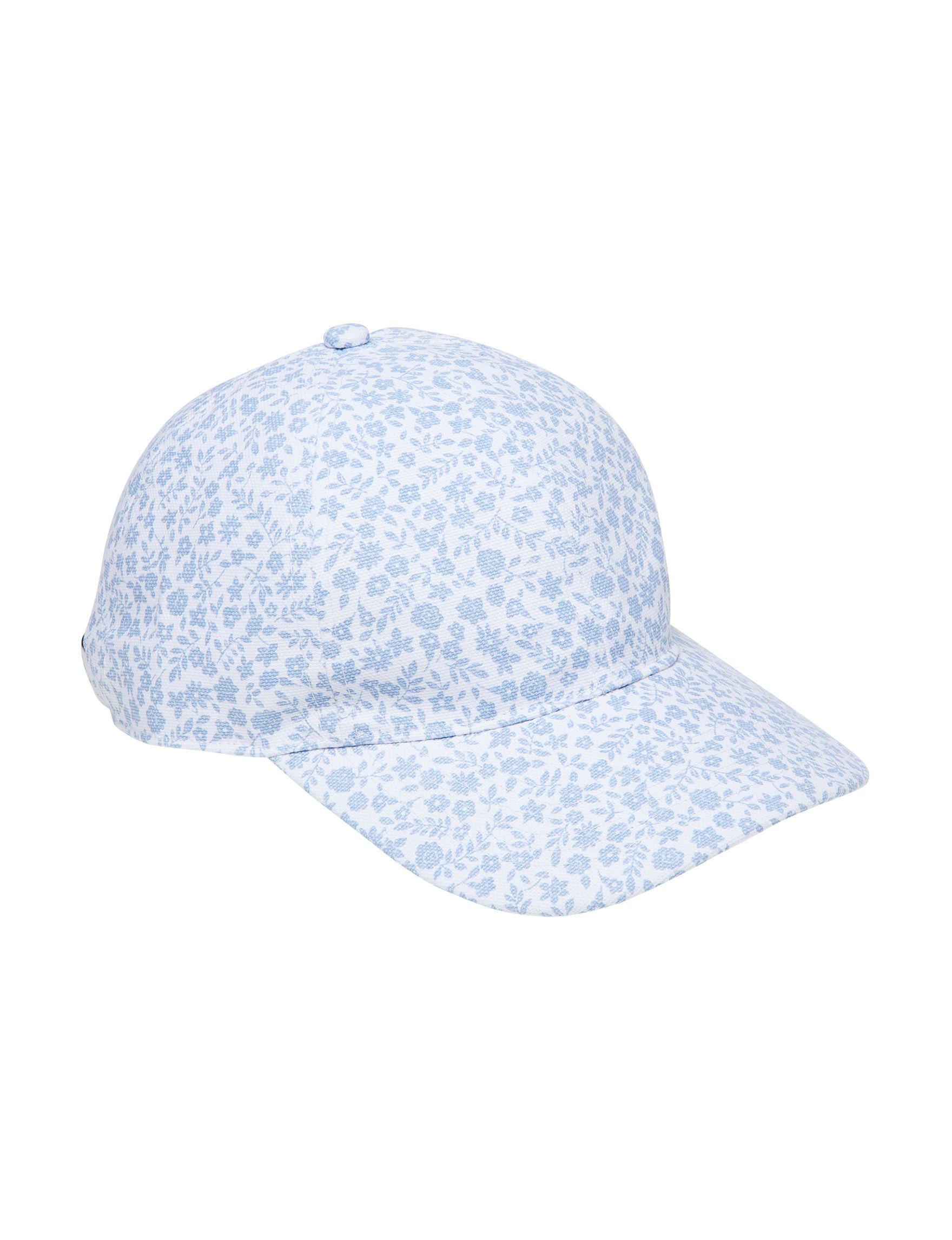 Chaps White / Blue Hats & Headwear