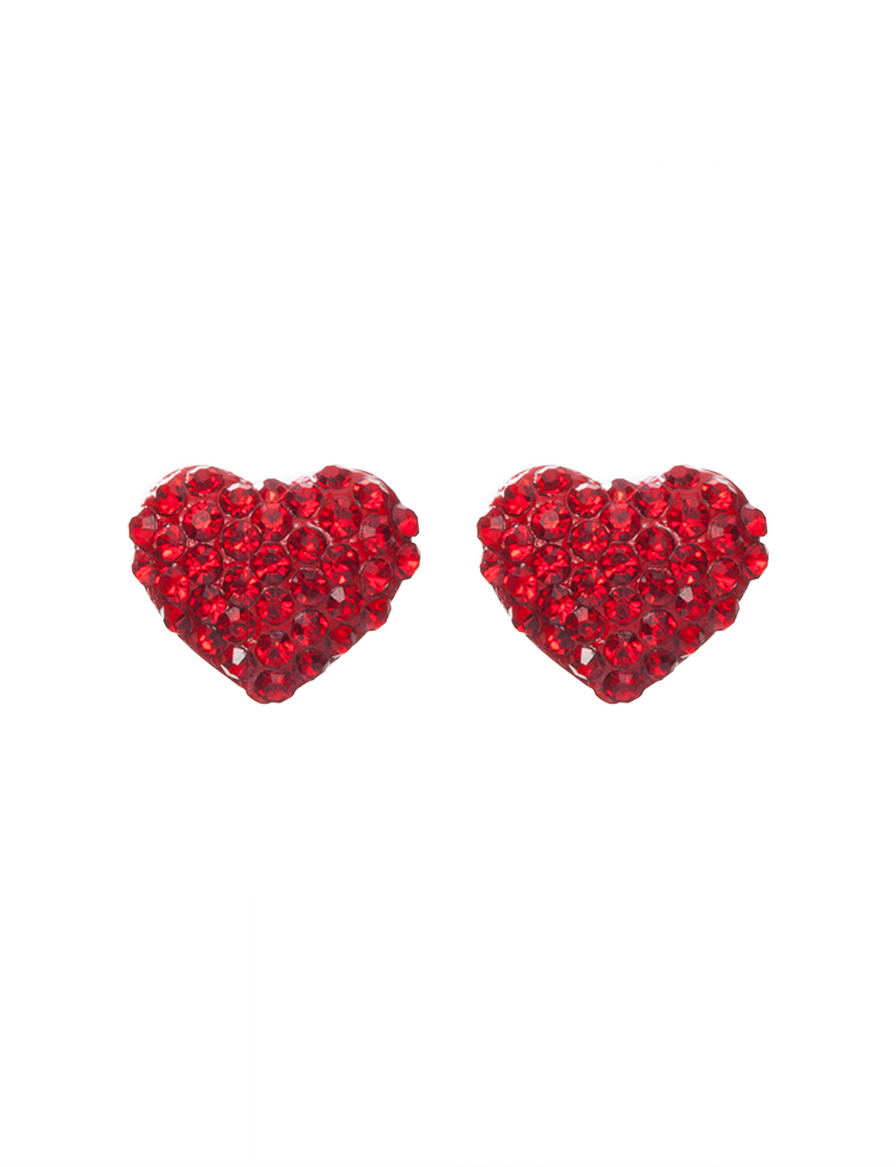 Hannah Red Studs Earrings Fashion Jewelry