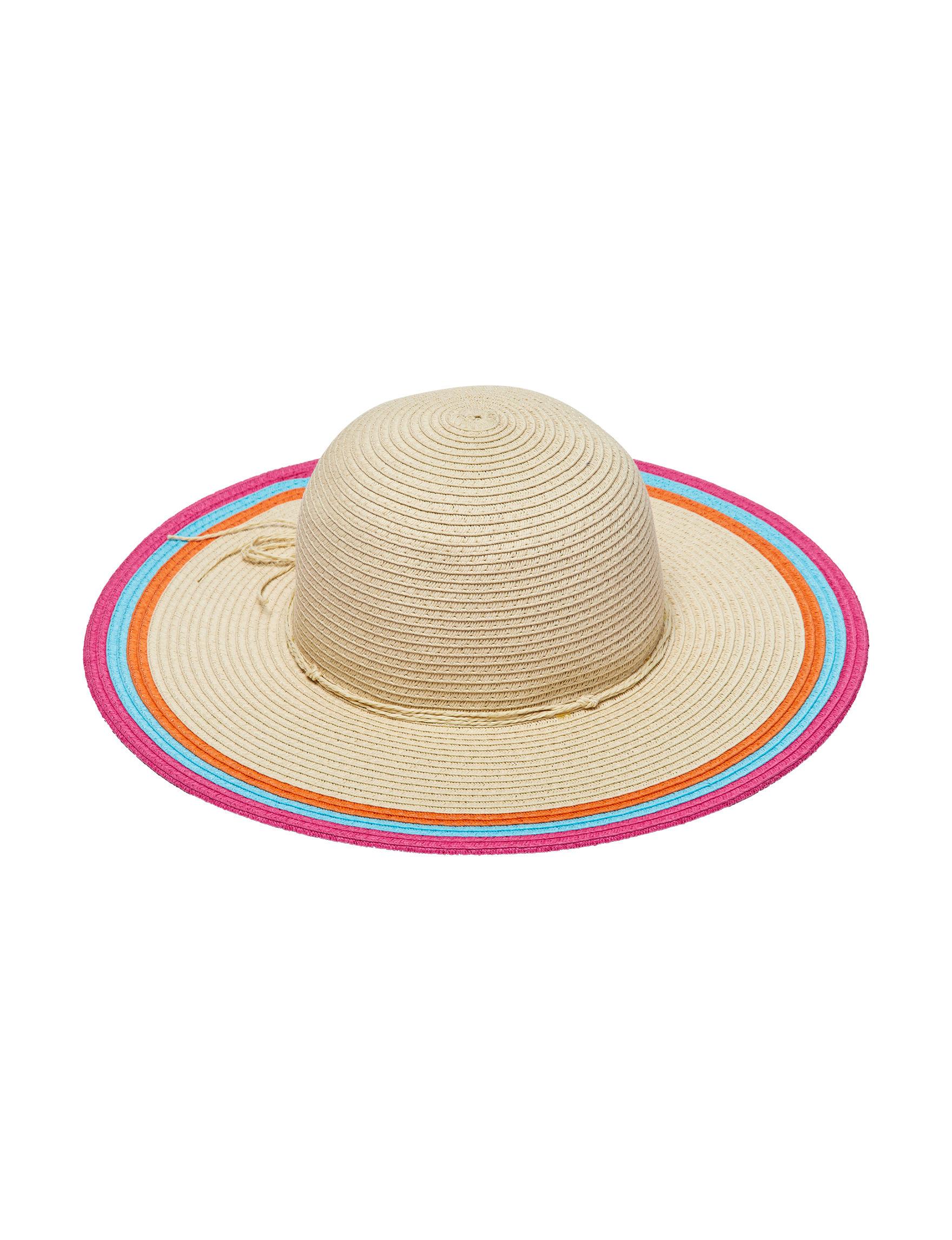 Columbino Beige / Multi Hats & Headwear