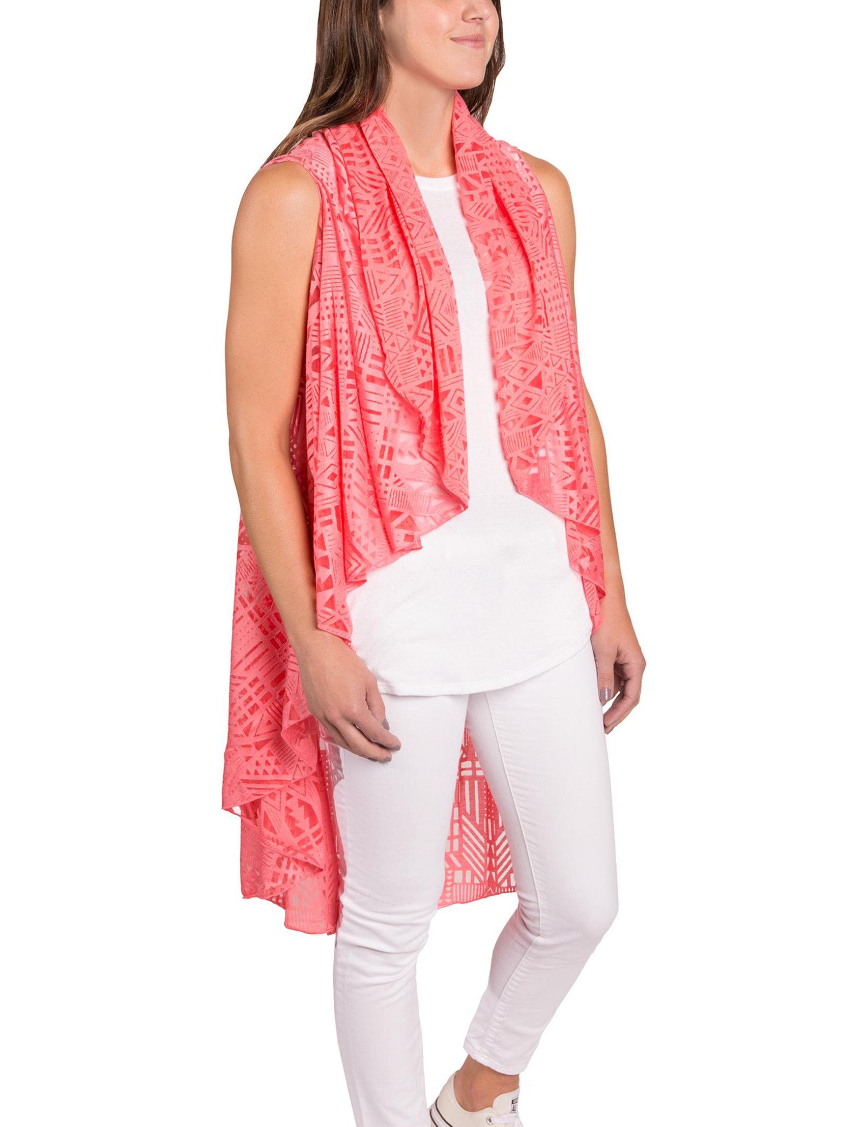 Demdaco Coral Scarves & Wraps