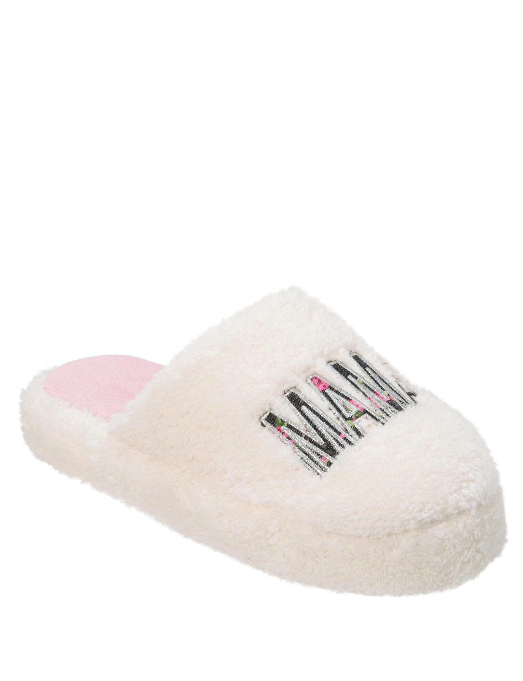 bf861d81e92 Dearfoams Mama Bear Slippers   Mask Set